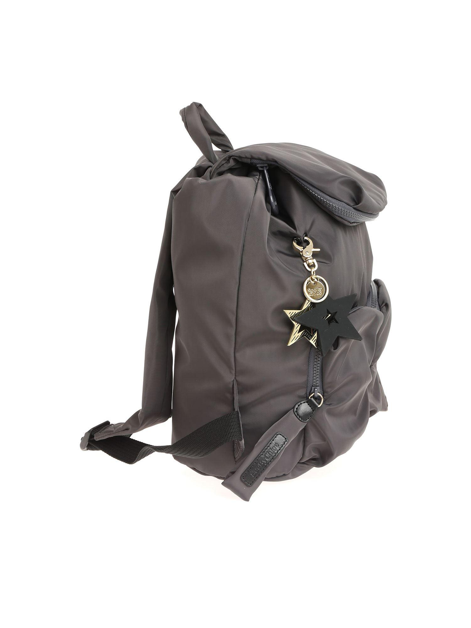 Lyst - See By Chloé Joy Rider Large Backpack 2ce22f3492b2a