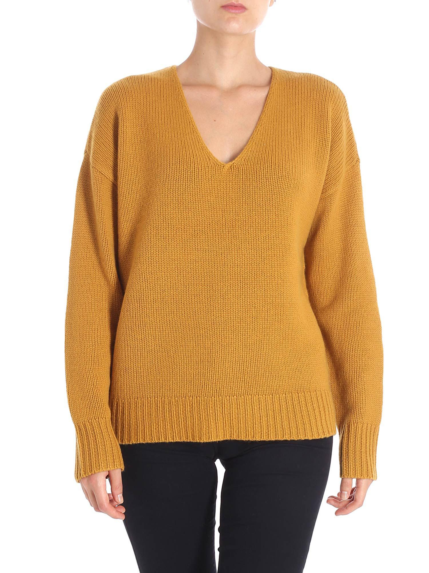 2d1e43a150 Theory - Multicolor Camel Colored Corduroy Relaxed Pullover - Lyst. View  fullscreen