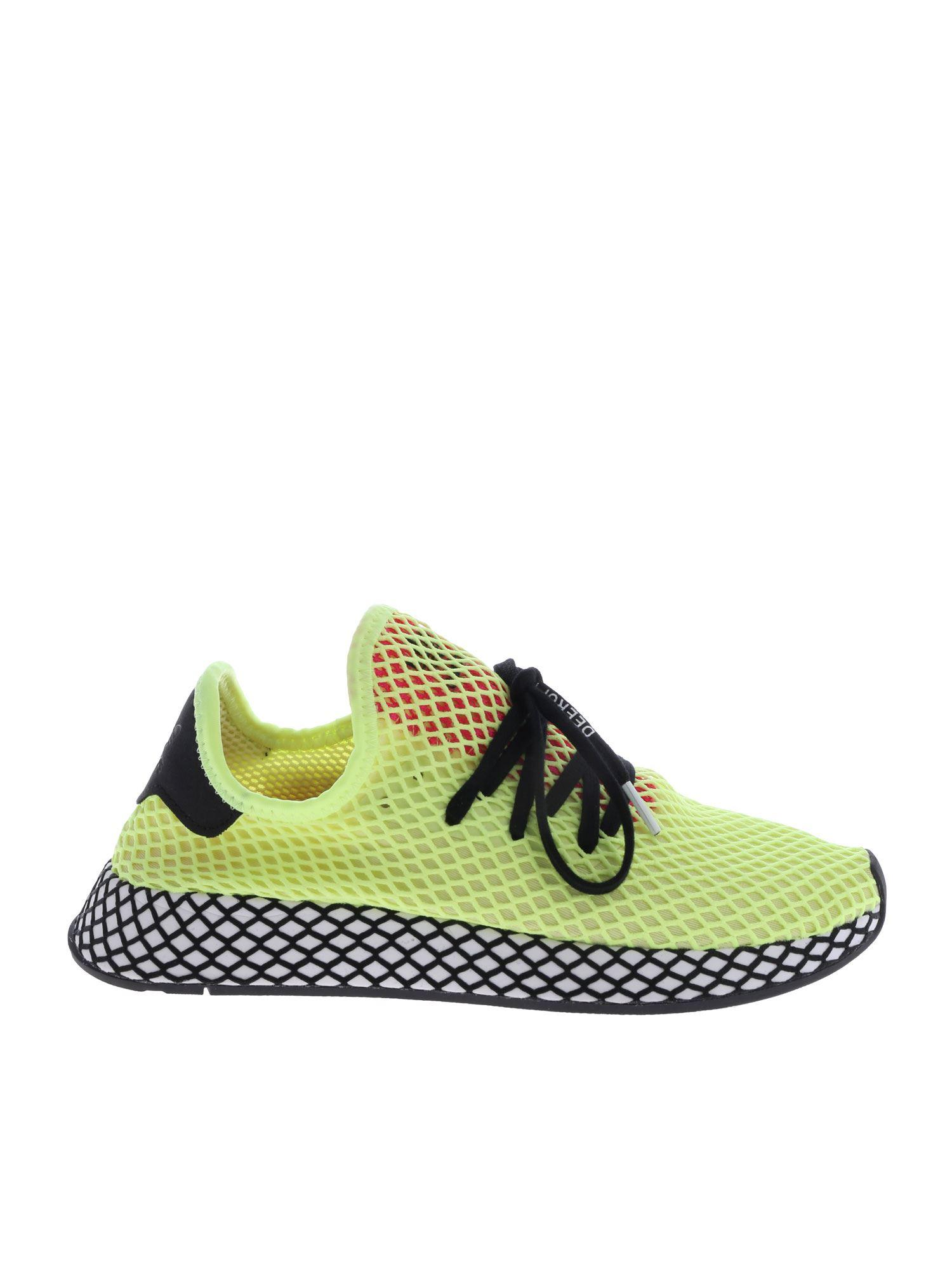 adidas deerupt runner yellow cheap online