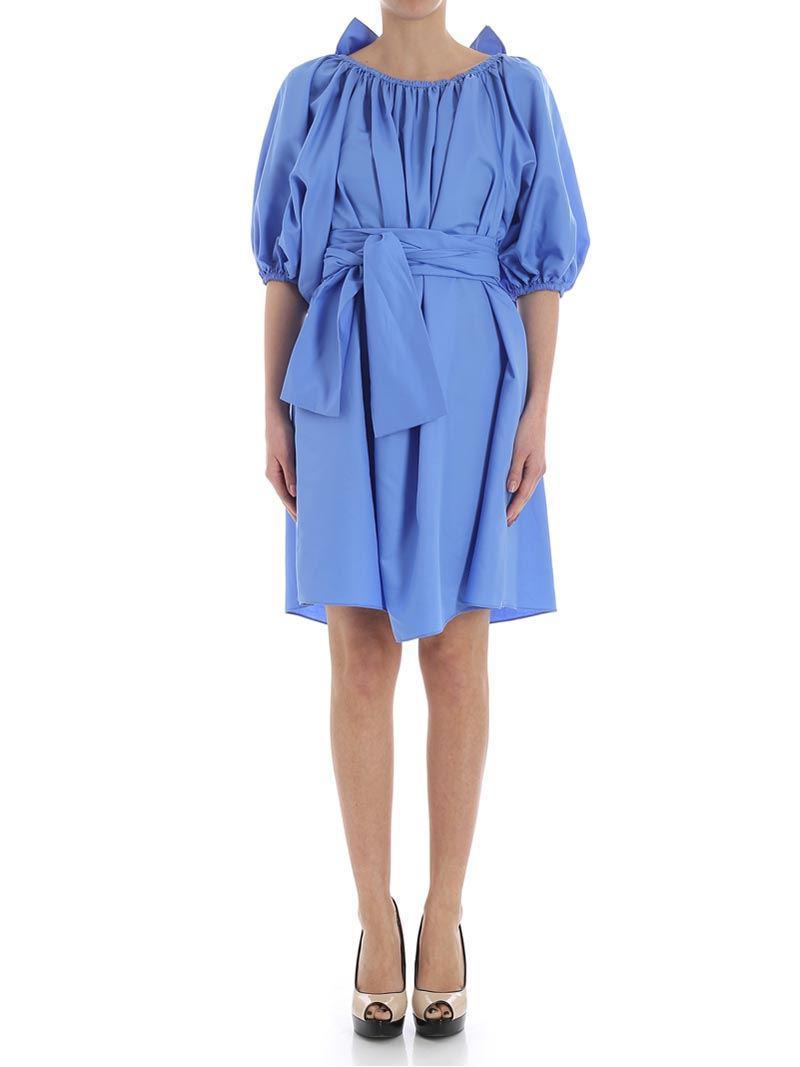Light blue ruffled dress Stella McCartney zgFIx0bMQ