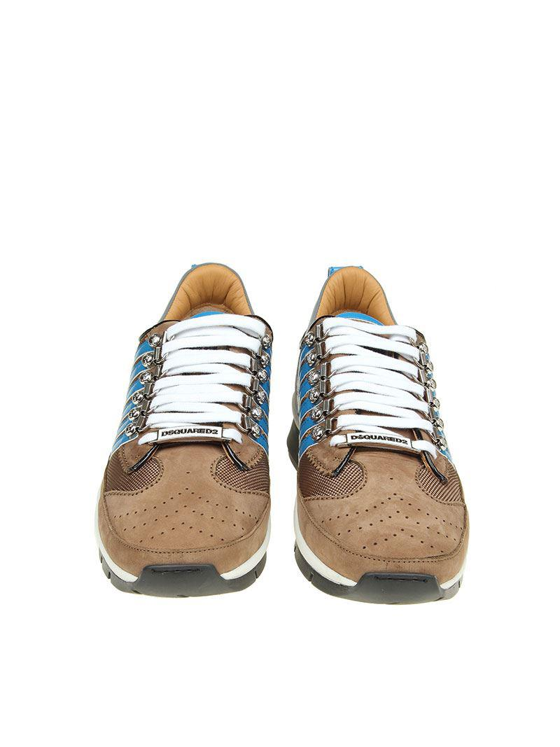 251 Up Lace Sneakers Critical Dsquared2 Beige Gzfpqup WEID2H9