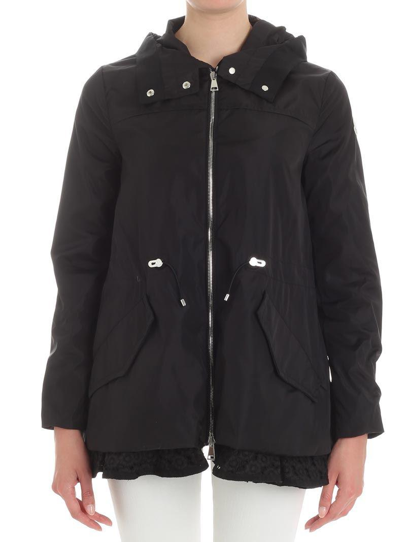 Moncler. Women's Black Lotus Jacket