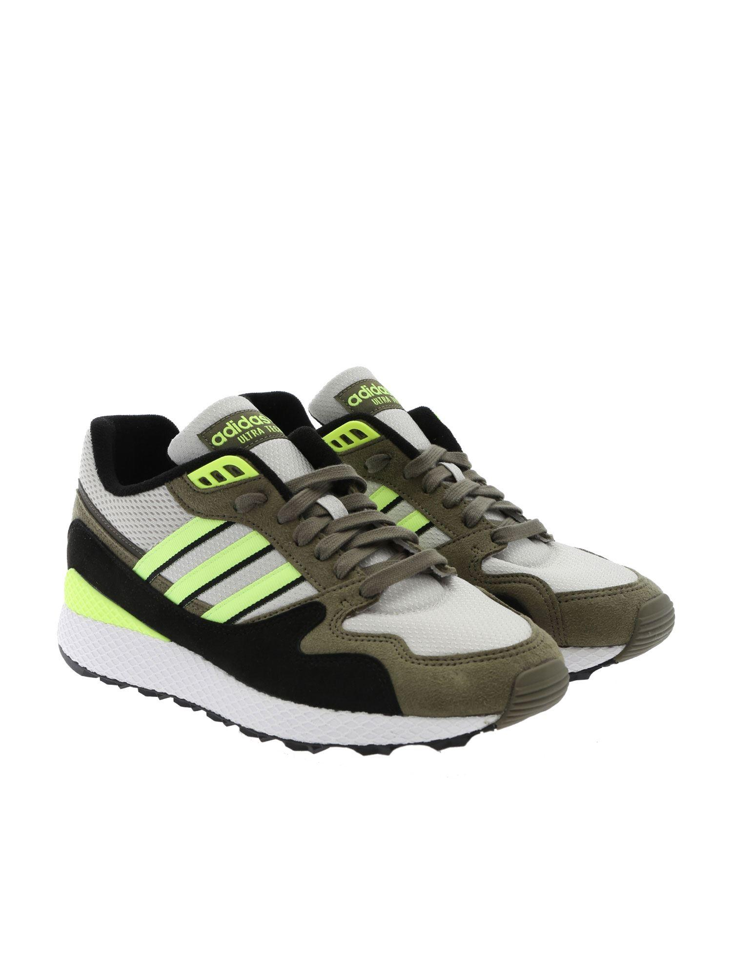 60f09b836b468 Lyst - adidas Originals Ultra Tech Sneakers In Green in Green for Men