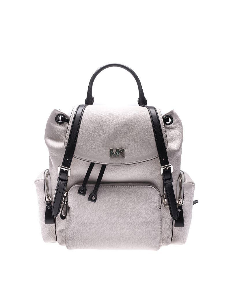 Michael Kors White Beacon backpack MWnwD9Nm