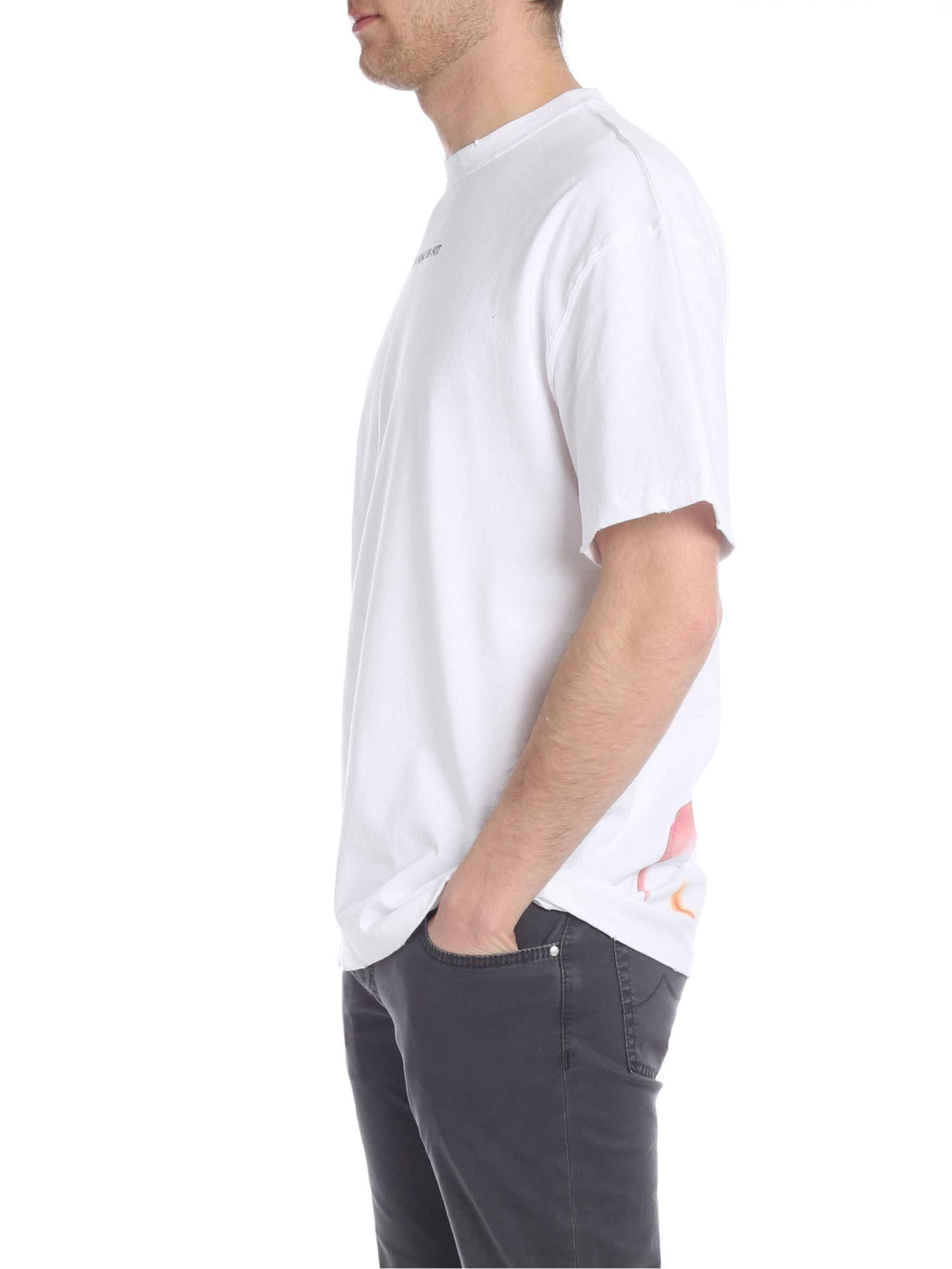 74ab050843 Lyst - ih nom uh nit White T-shirt With David Bowie Print in White for Men