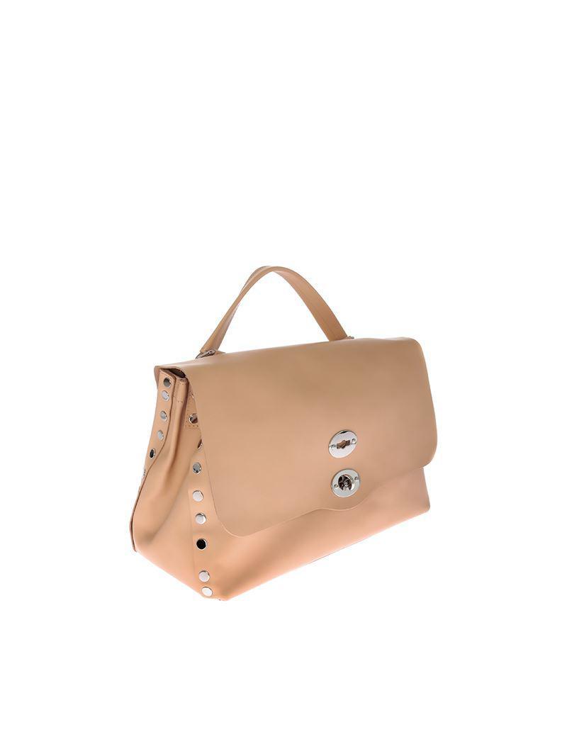 Zanellato Pink Postina M bag - Original Silk line LnKdLHVPFS