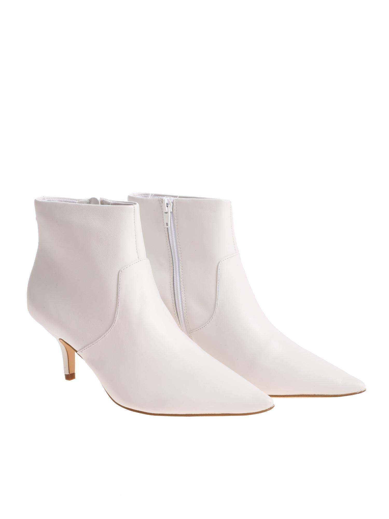 febc14e580e Lyst - Steve Madden 60mm Rome Leather Boots in White - Save 40%