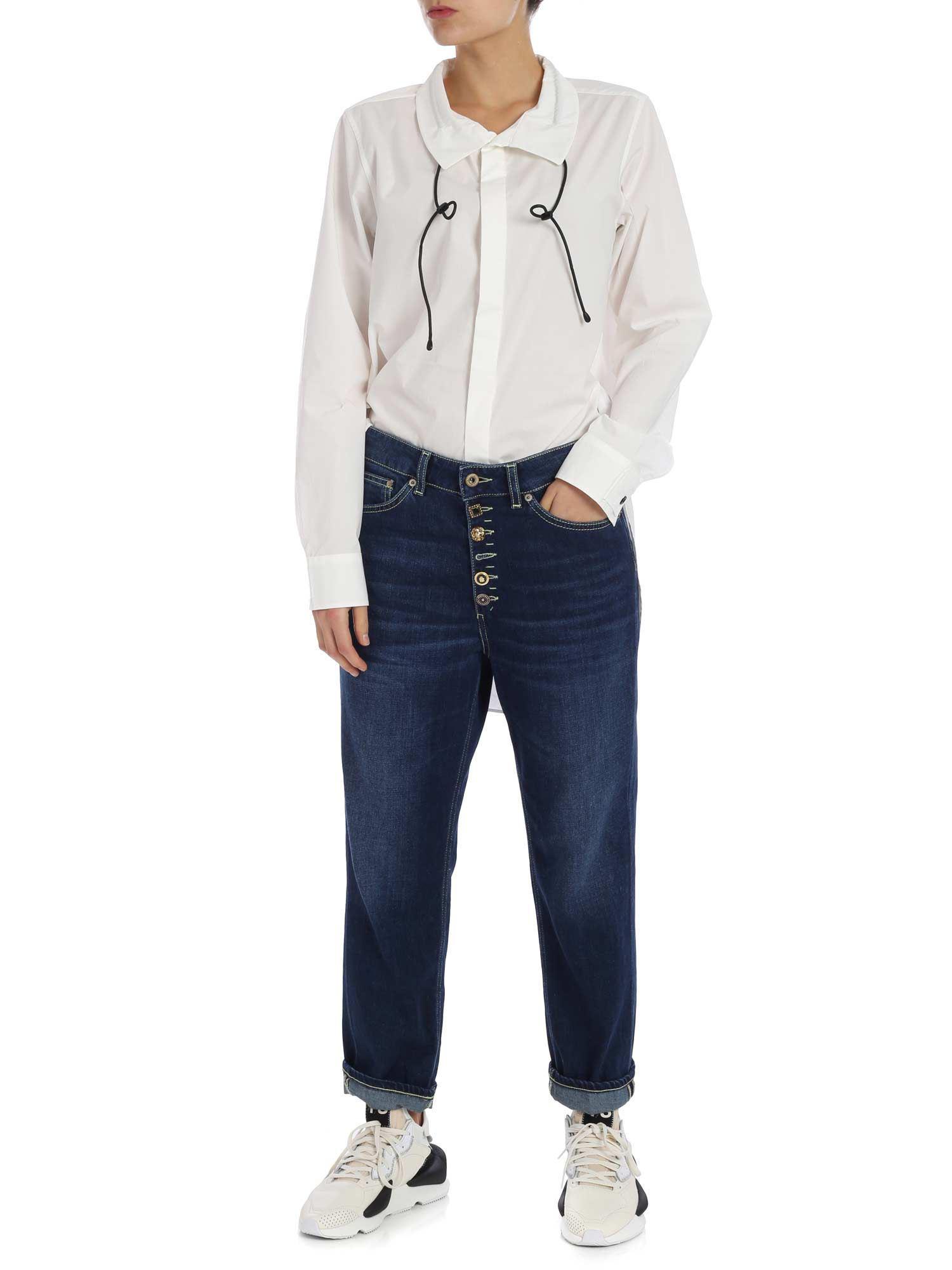 reputable site f132c 354bd y-3-white-White-tie-Cord-Shirt.jpeg