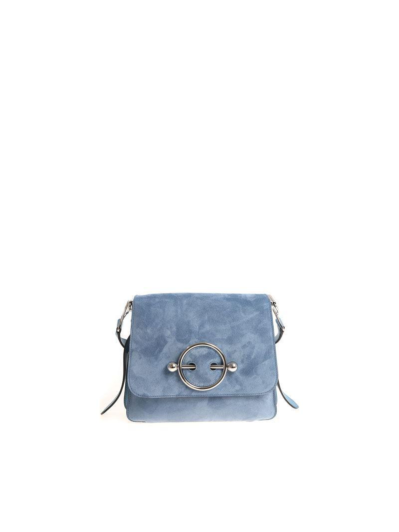 Light-blue Disc shoulder bag J.W.Anderson 4r6OIEIsU
