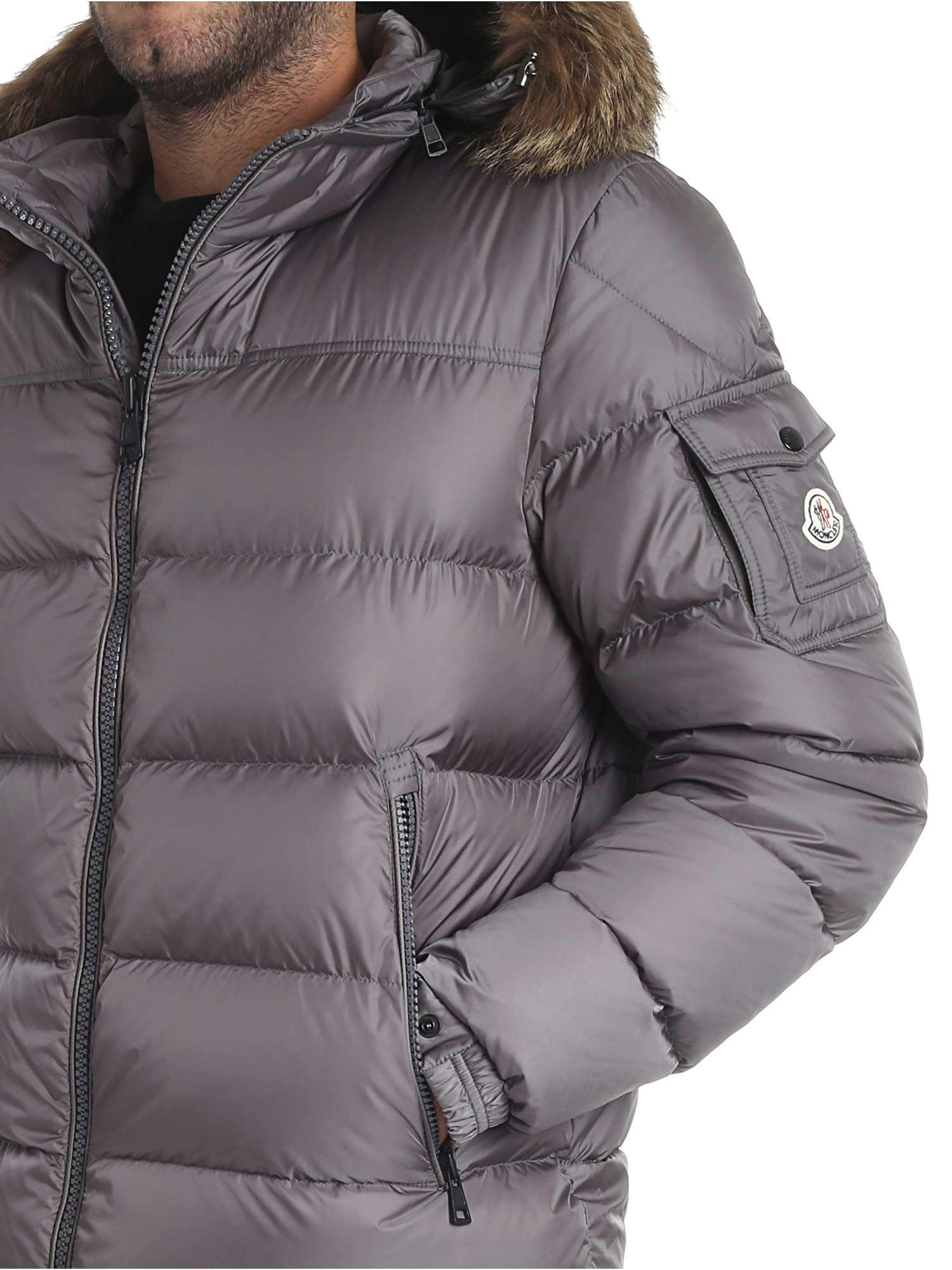 grey moncler puffer coat