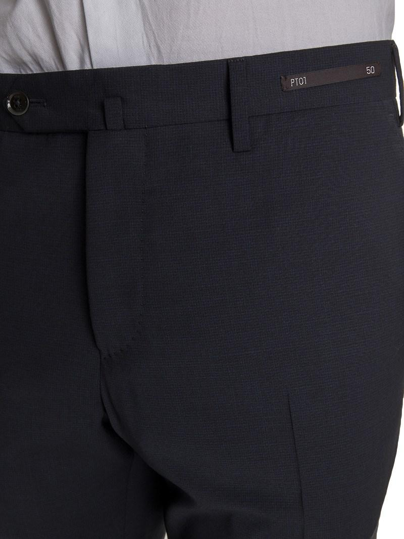 "PT01 Synthetic ""traveller"" Trousers in Blue for Men"