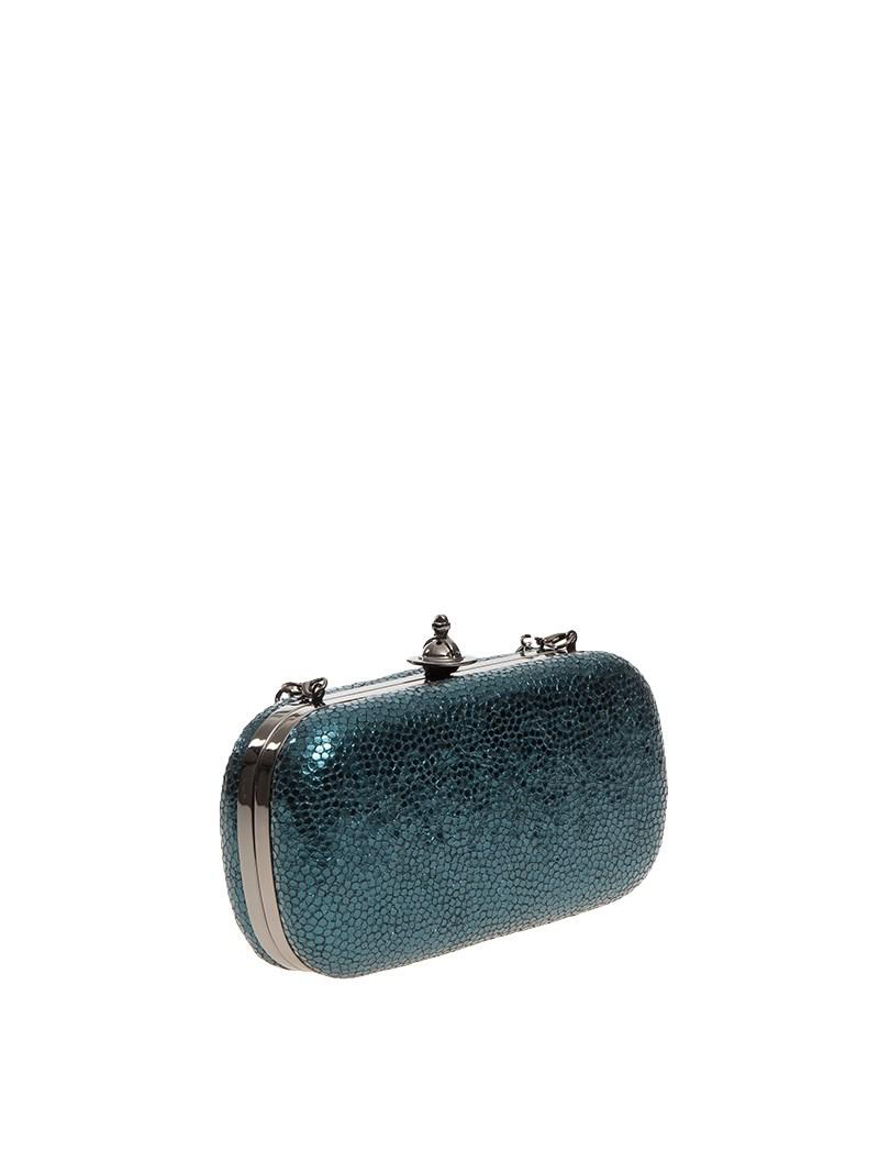0f50f096d Lyst - Vivienne Westwood Verona Clutch Bag in Blue
