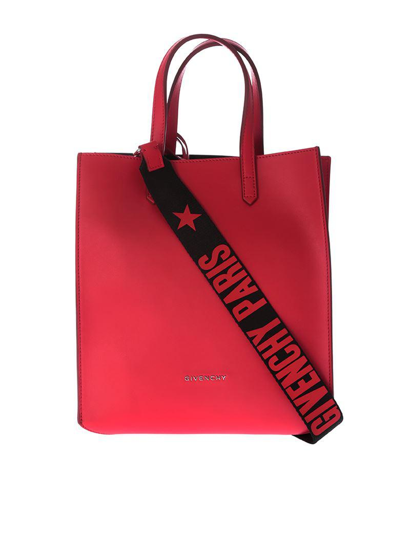 e9d80552c016 Givenchy - Red Stargate Small Bag - Lyst. View fullscreen