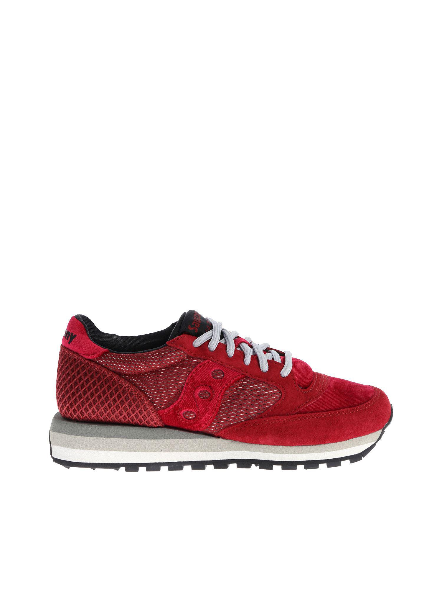 Saucony - Red Burgundy