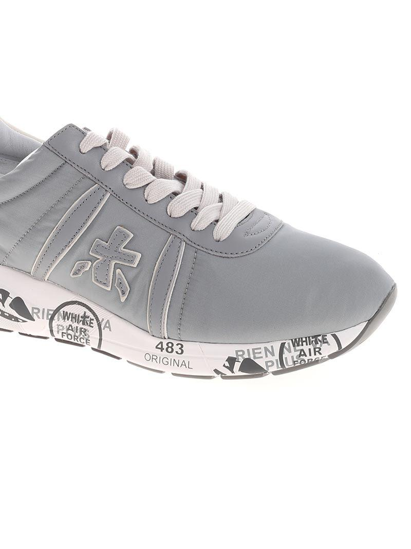 Premiata Leather Gray Mattew Sneakers