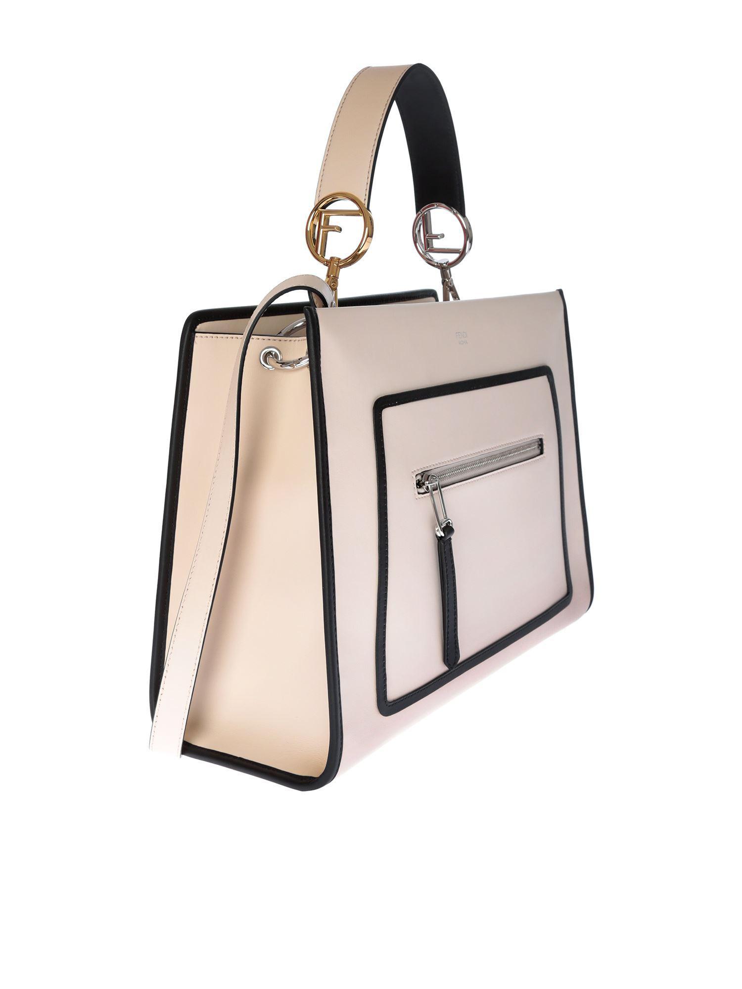 fc470ad3c595 Fendi - Powder Pink Runaway Hand Bag - Lyst. View fullscreen