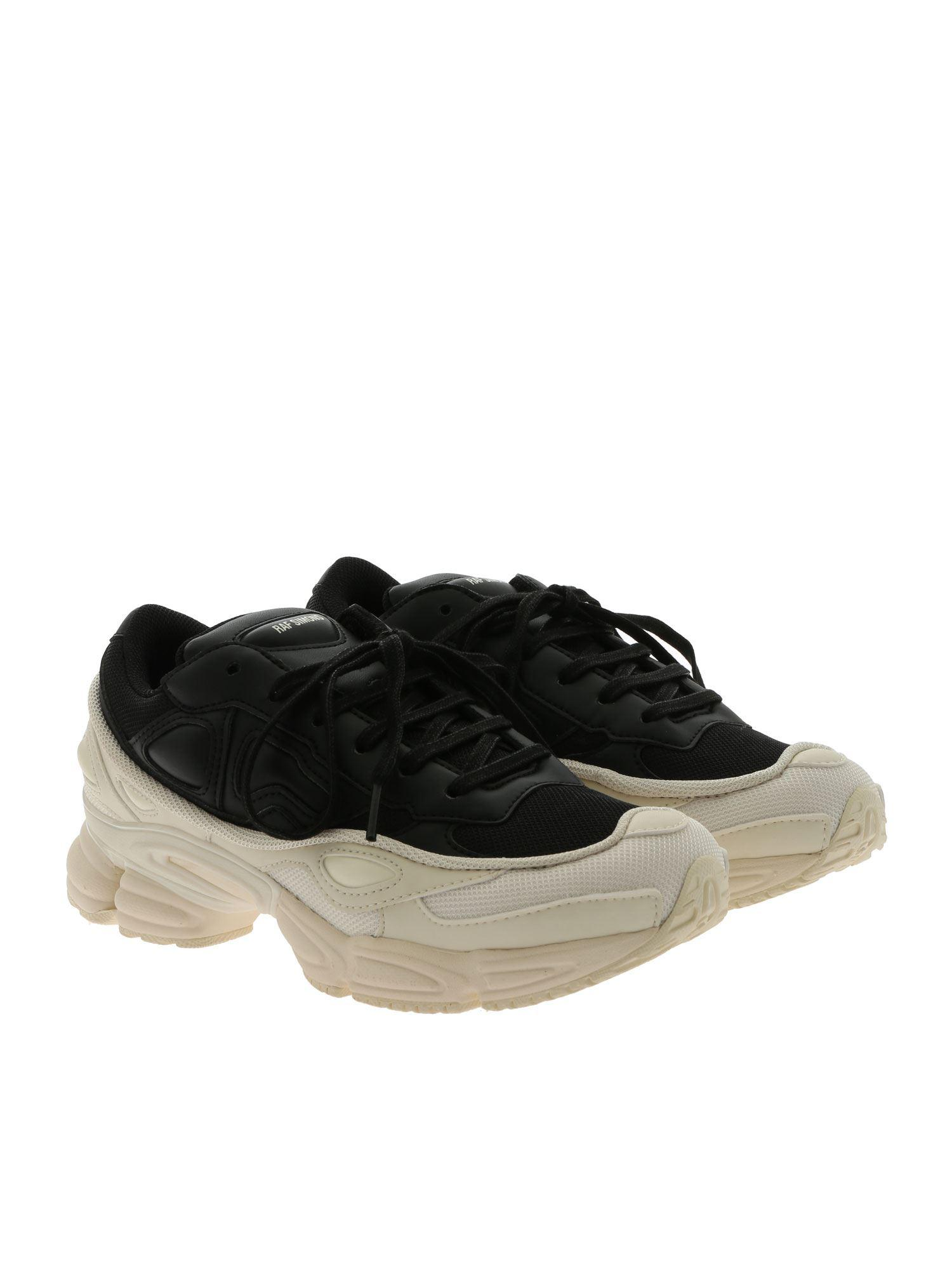 2a796d054d4dc7 Lyst - Adidas By Raf Simons Rs Ozweego Black Sneakers in Black for Men