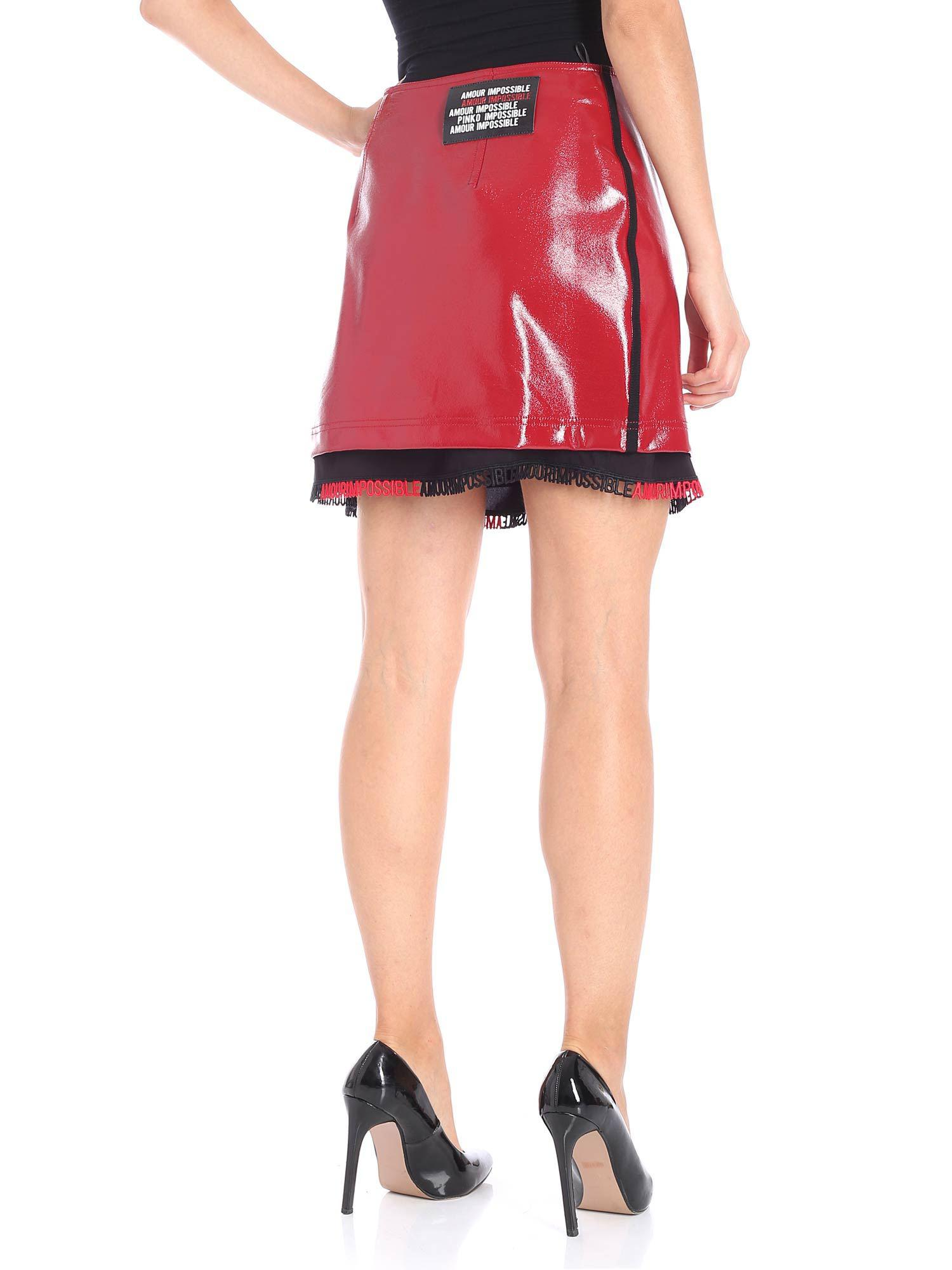 0db7a805a0f33a pinko-red-Blasamo-Red-Patent-Leather-Mini-Skirt.jpeg
