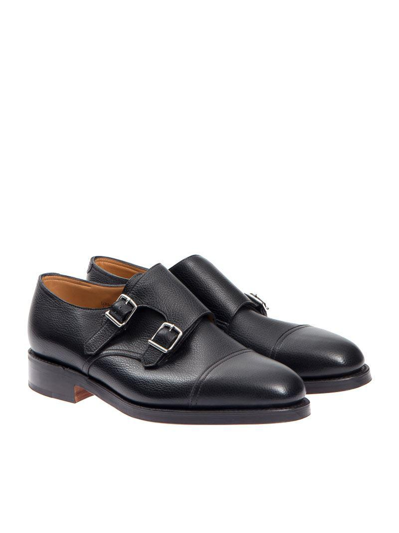 John Lobb Leather William Shoes in Black for Men