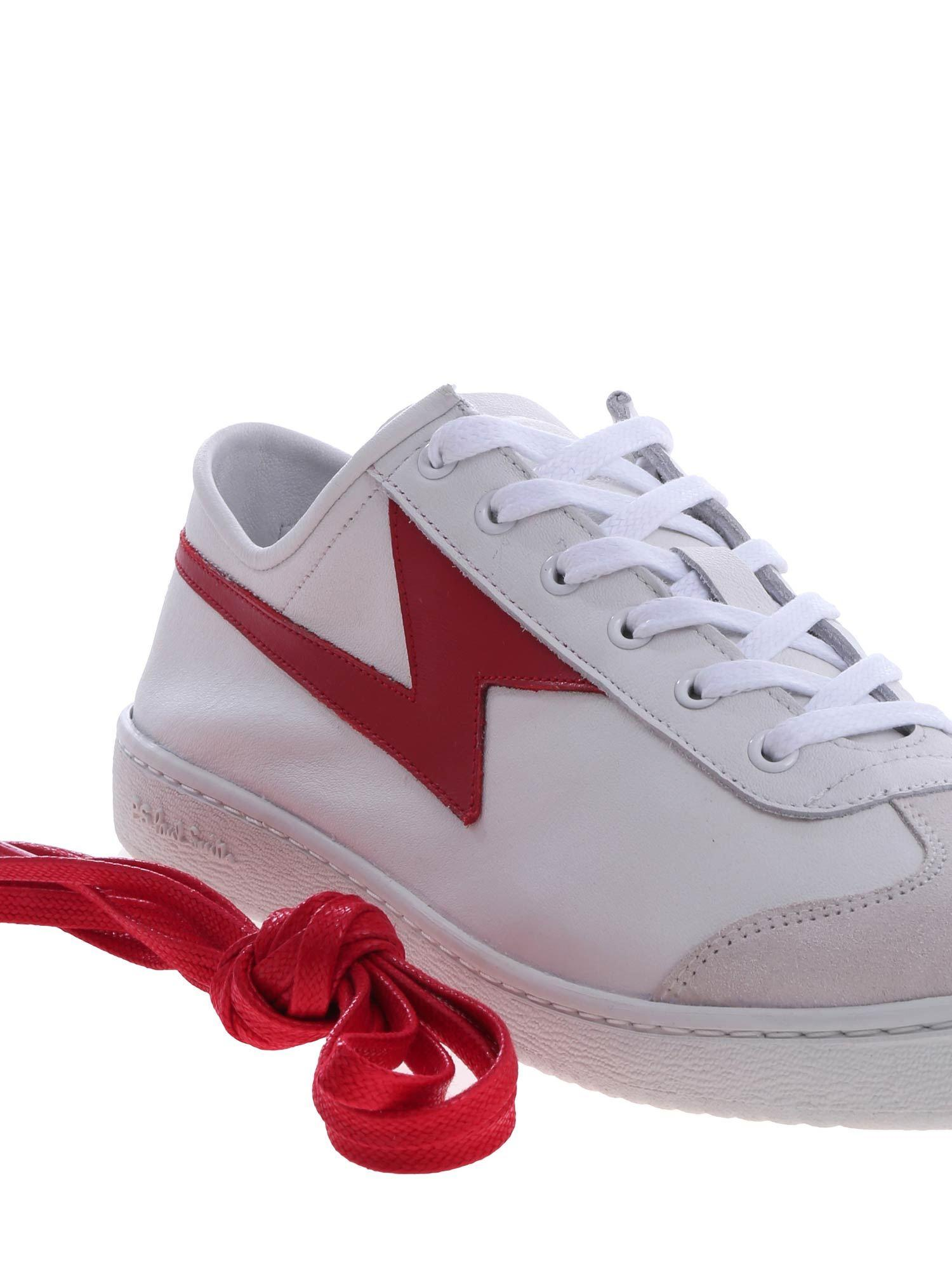 Ziggy Sneakers With Red Lightning Bolt