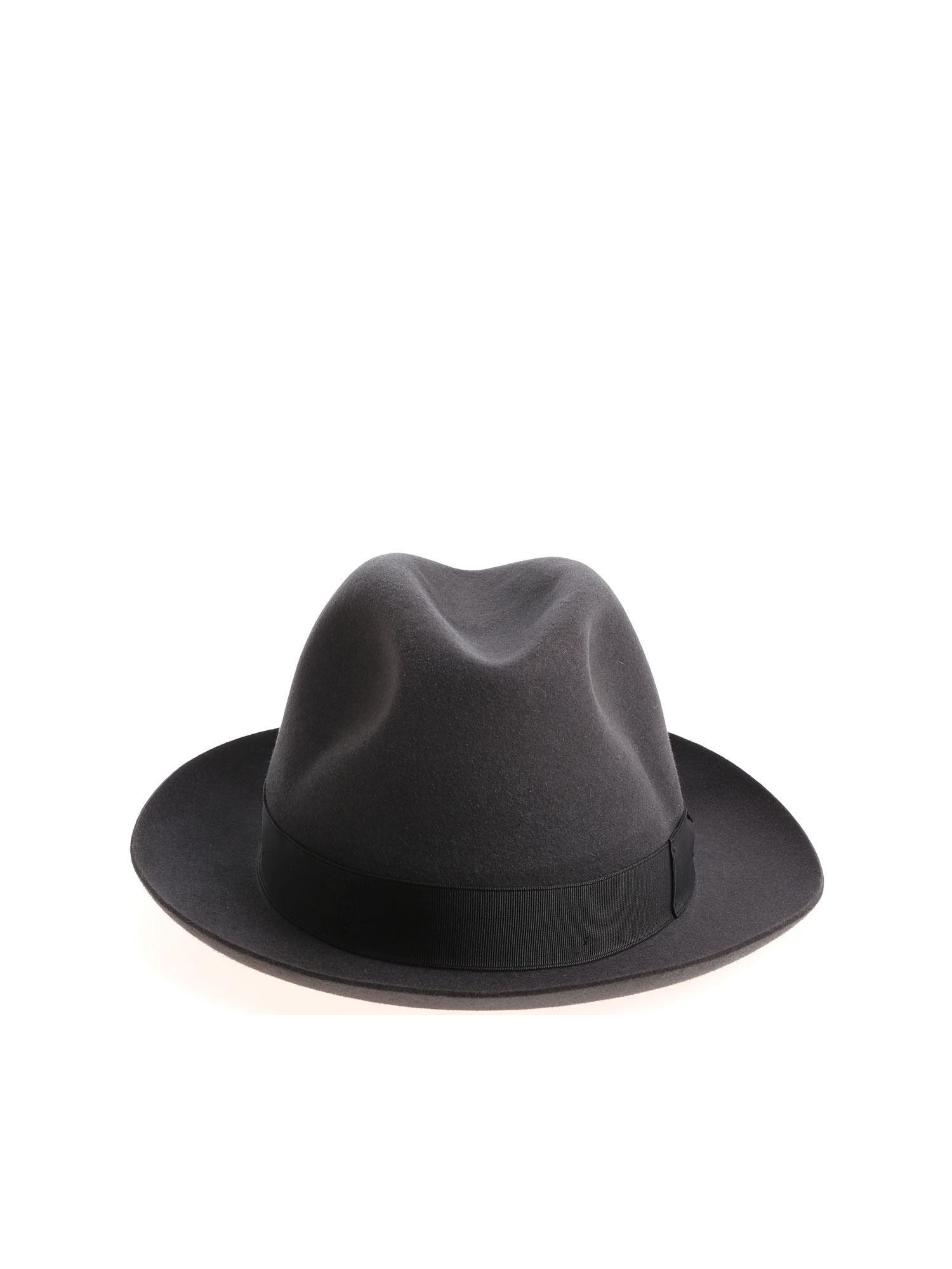 ea034d6d019 Borsalino Dark Green Felt Marengo Hat in Green for Men - Lyst