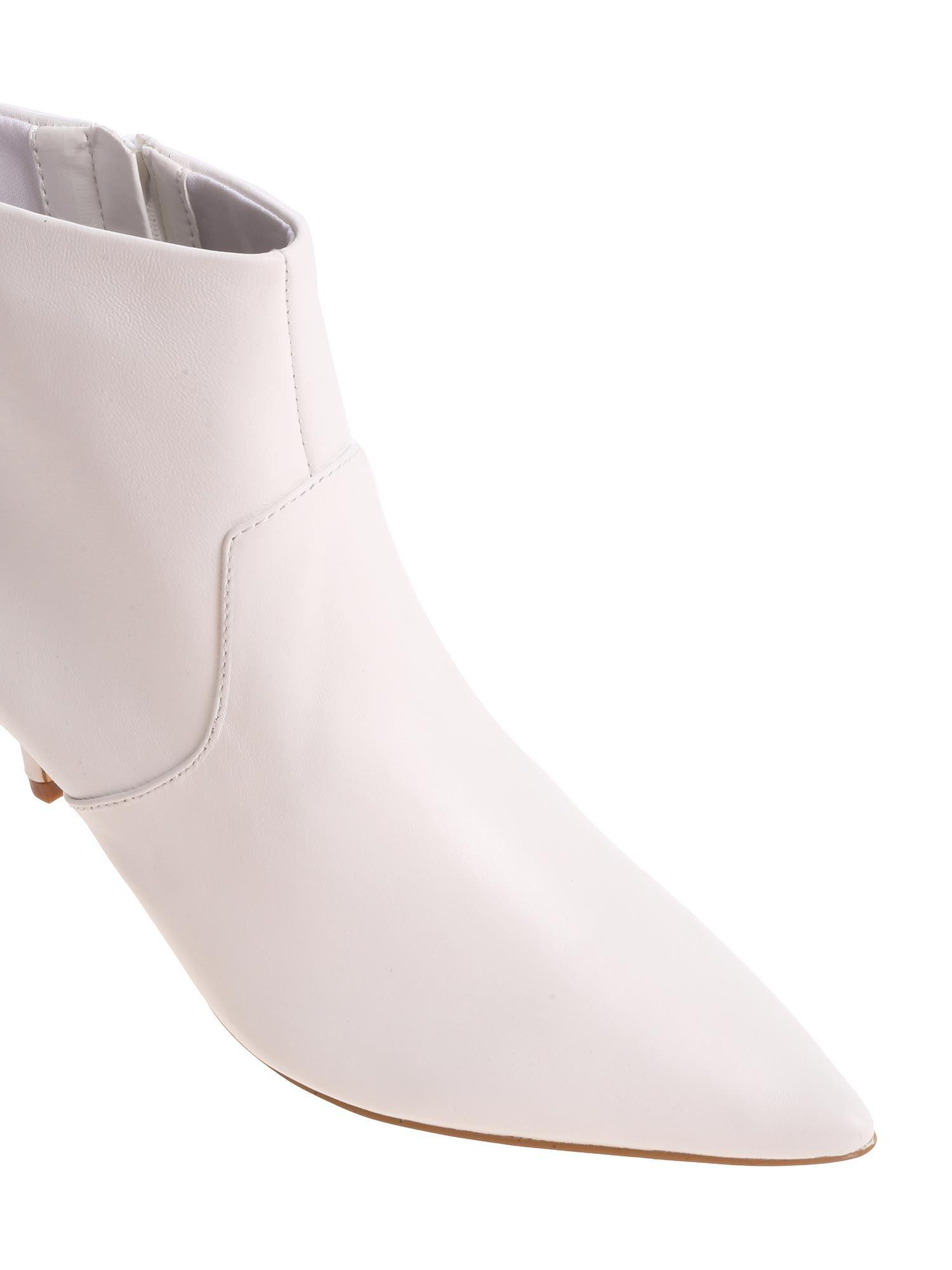5323a226684 Steve Madden - White 60mm Rome Leather Boots - Lyst. View fullscreen