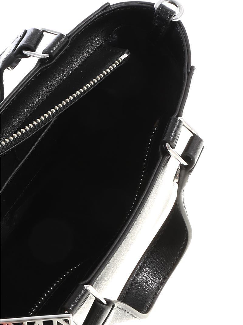 KENZO Leather Eye Tote Small Bag in Black