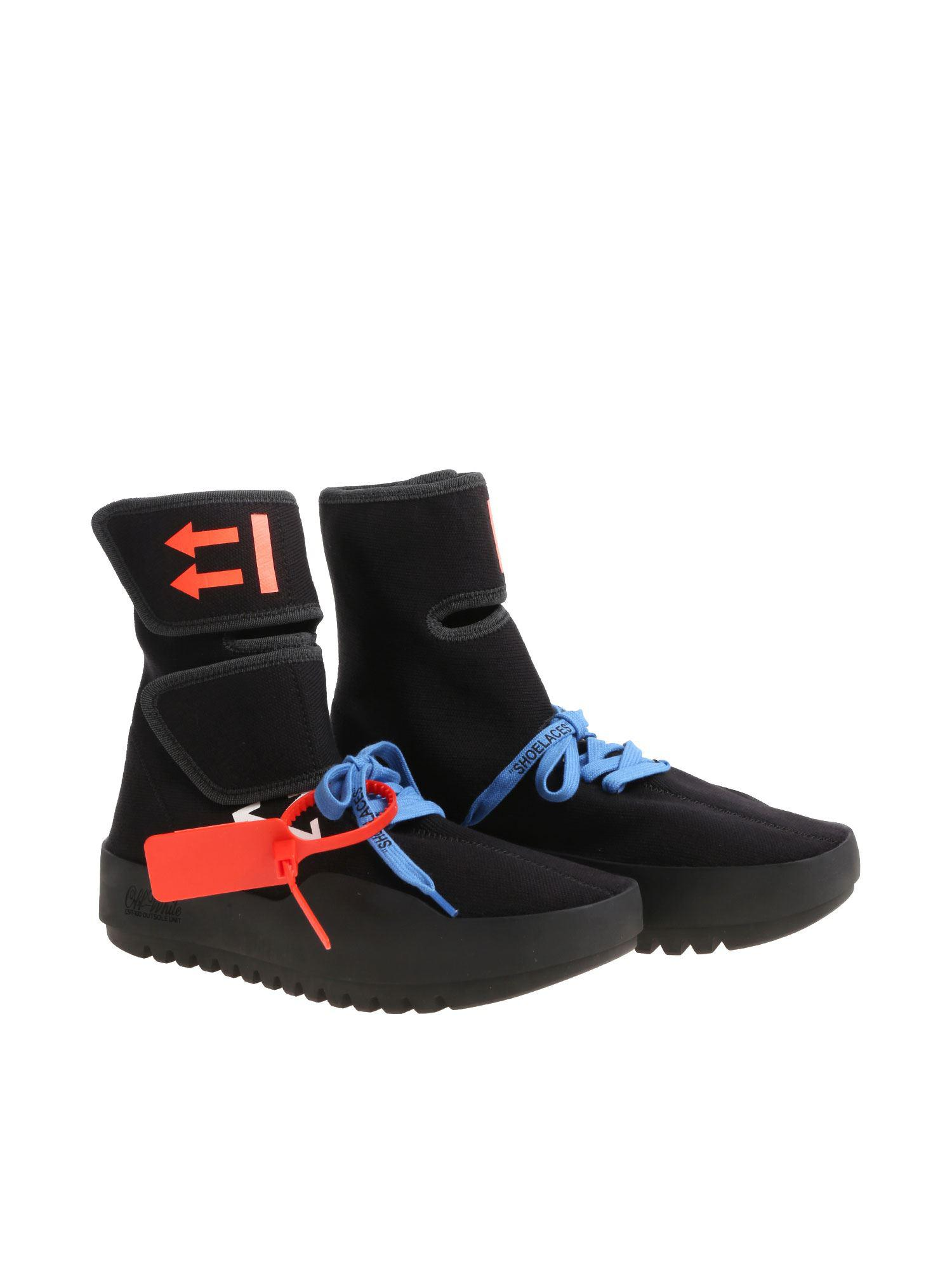Moto Wrap Black Sneakers