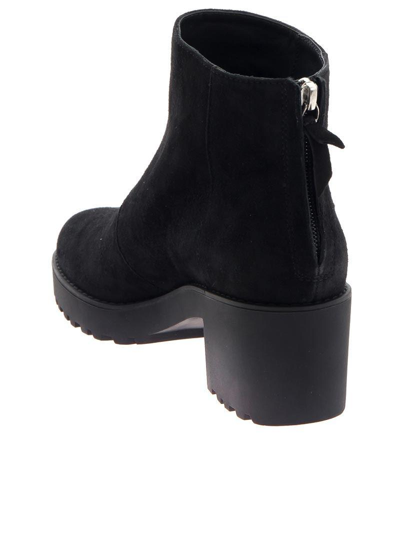 Hogan Suede H277 Ankle Boots in Black - Lyst