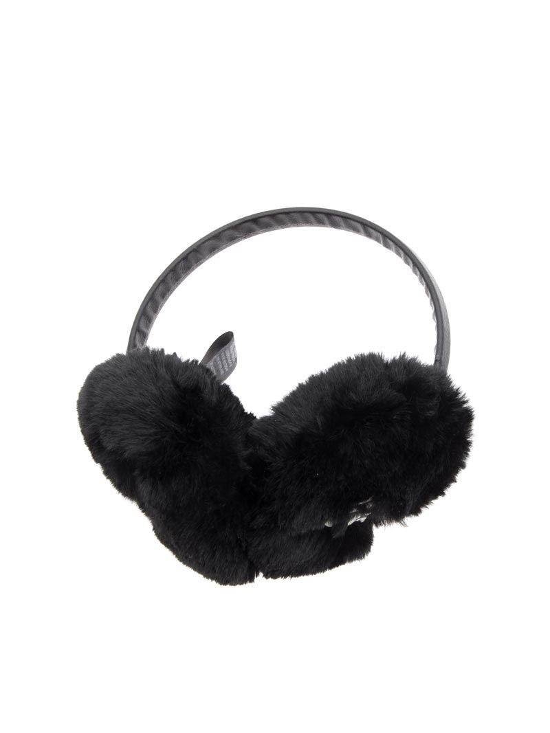 aef41a179e9 Lyst - Karl Lagerfeld Signature Earmuffs in Black