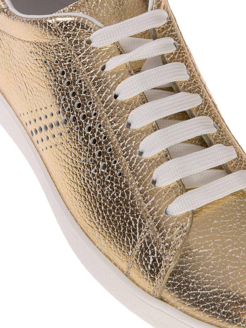 Tod's Leather Cassetta Leggera Sneakers