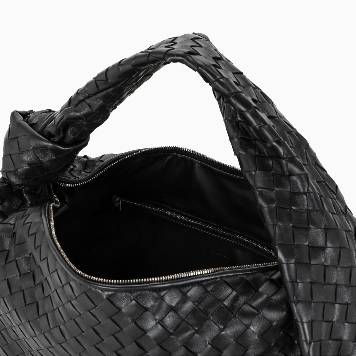 Bottega Veneta Jodie Intrecciato Mini Leather Hobo Bag In