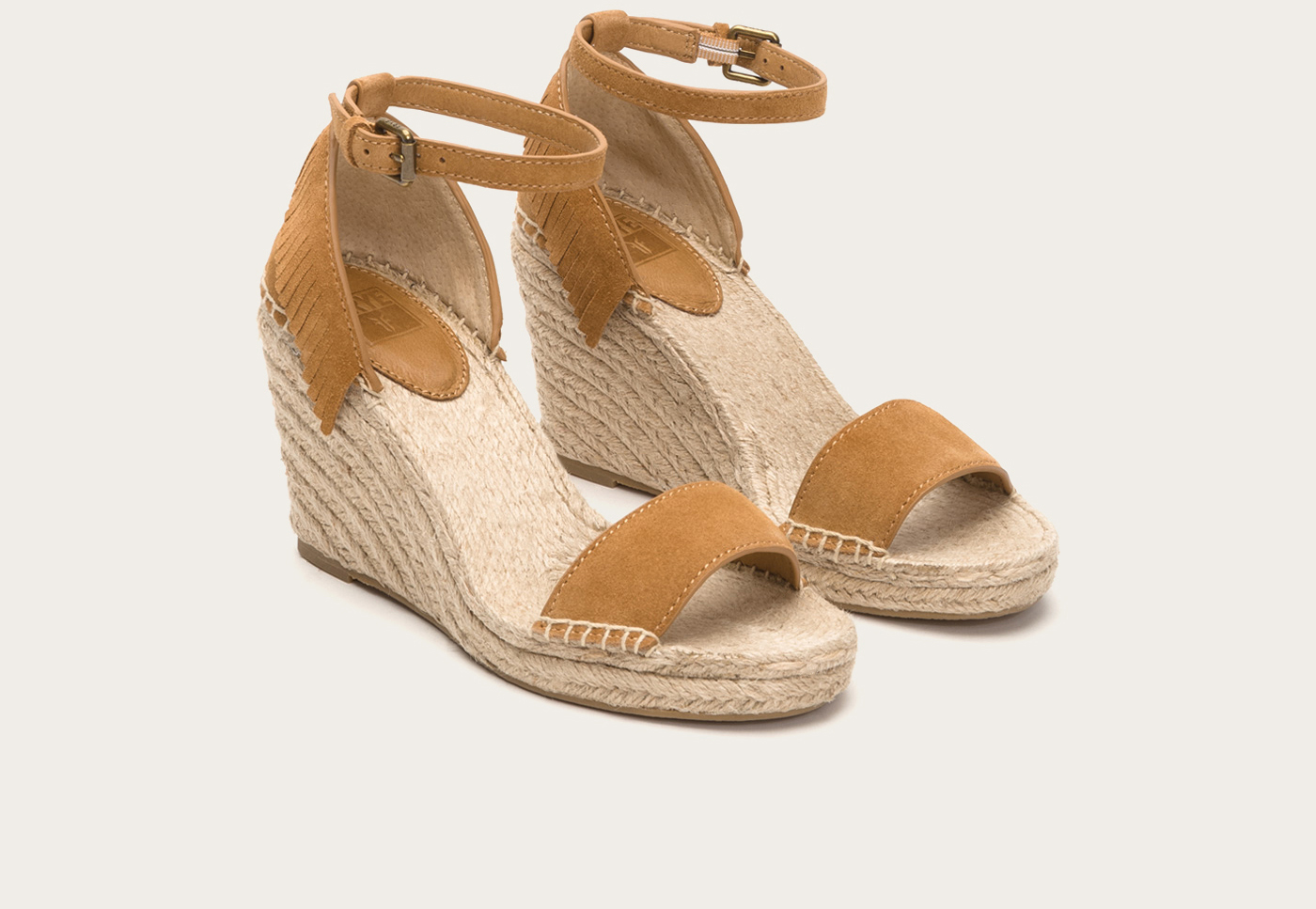 Lyst Frye Lila Feather Wedge