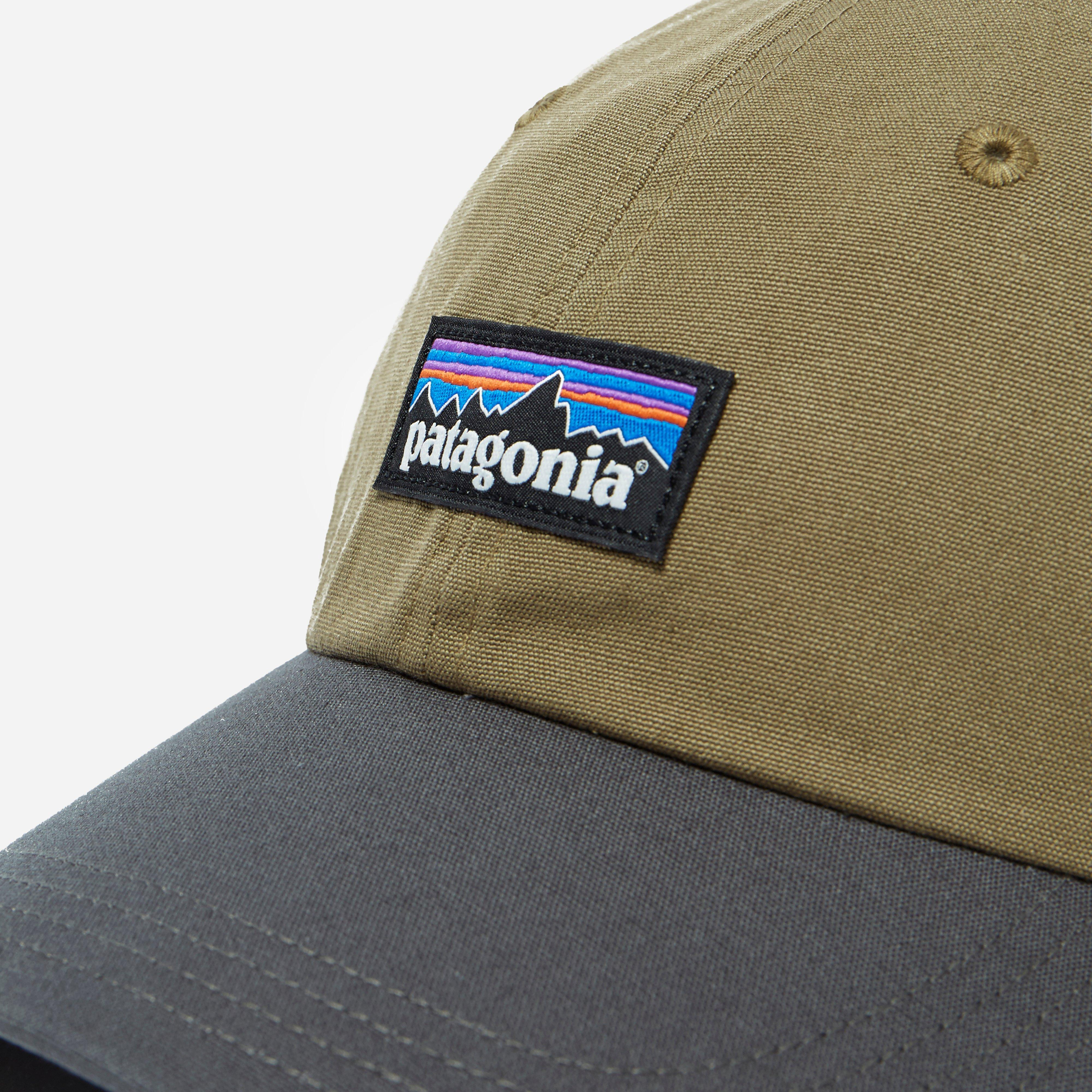 f419500a76673 Patagonia P6 Label Trad Cap in Green for Men - Lyst
