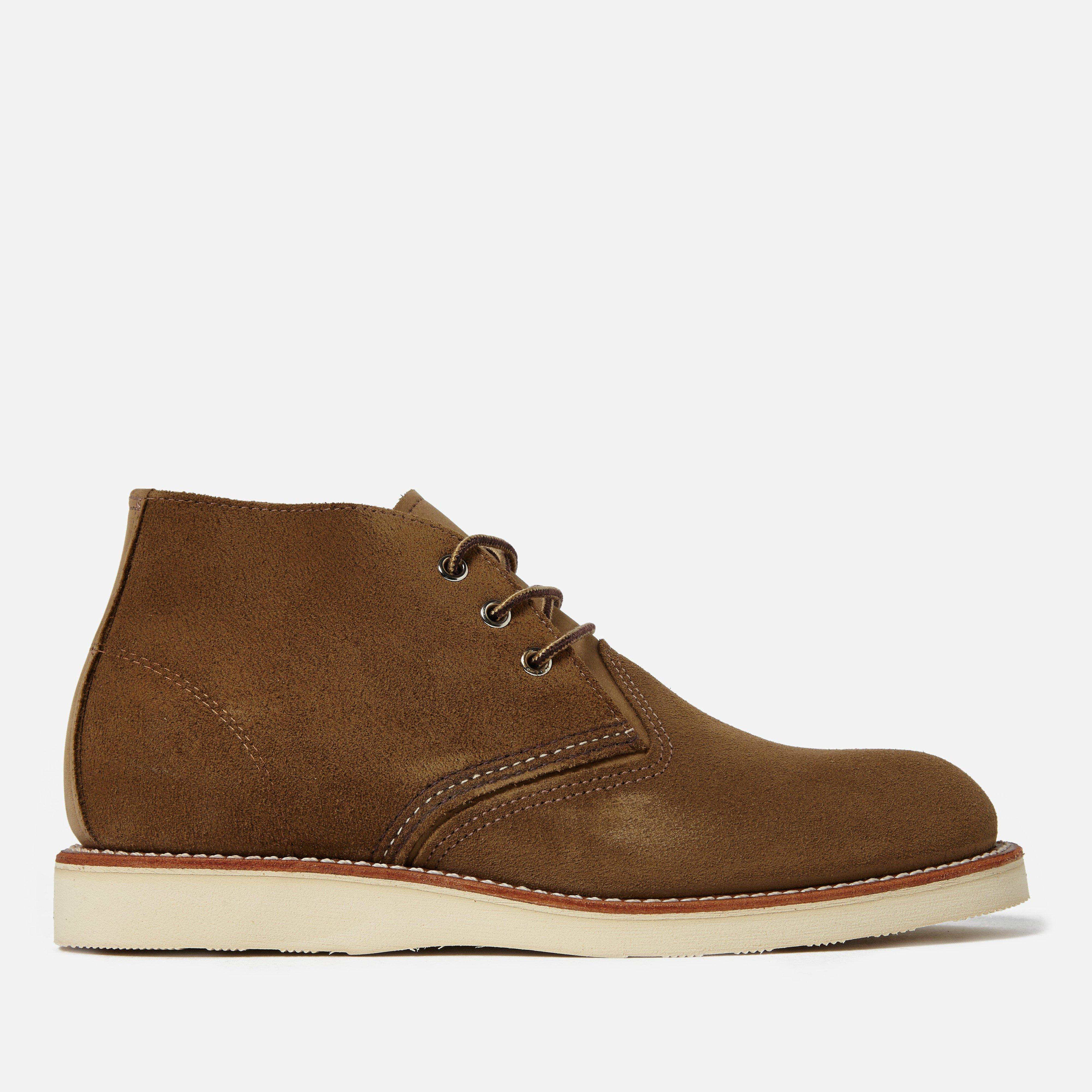 Red Wing  Mens Boots 3149 Chukka Heritage Work Olive Mohave  Green