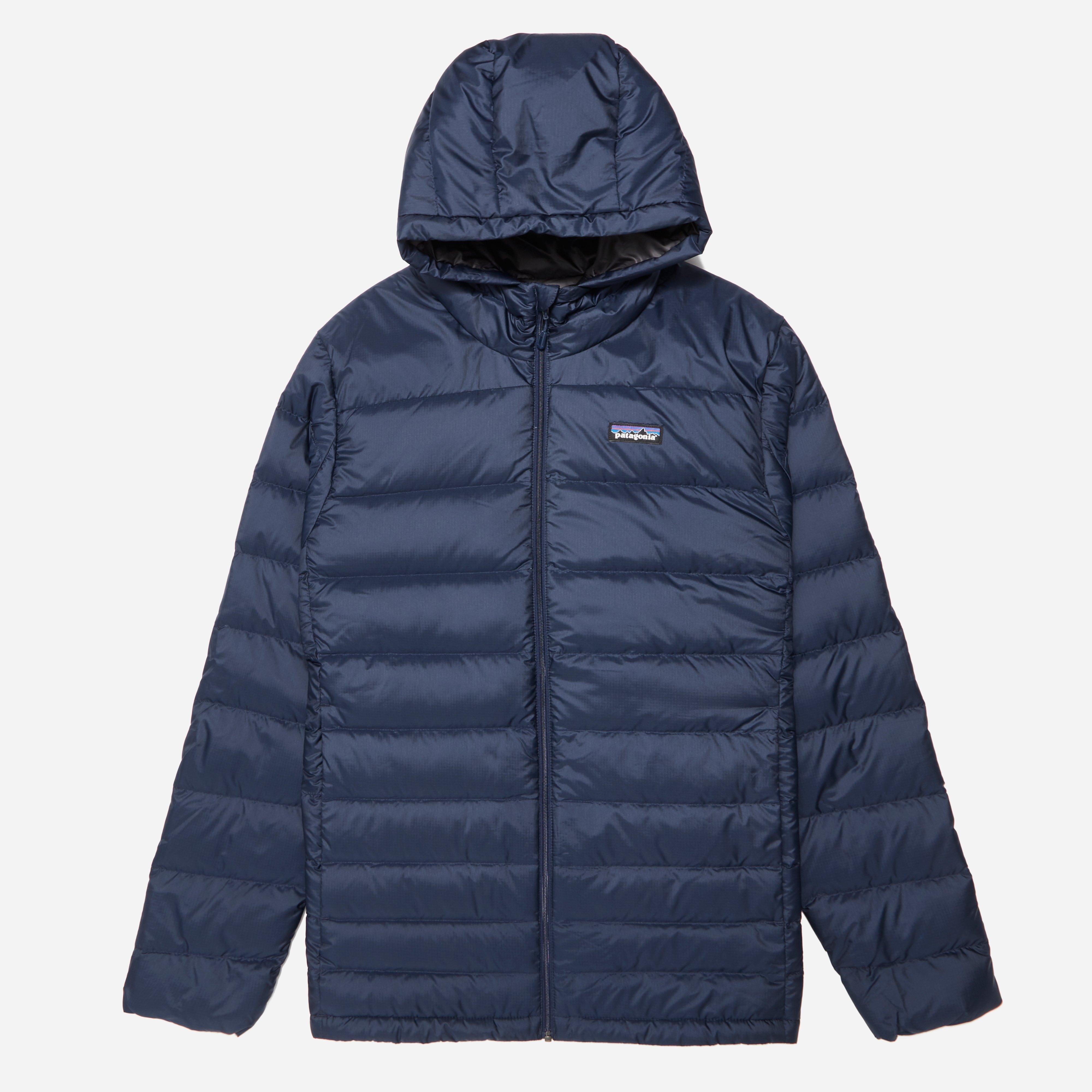 Patagonia Hi Loft Down Hoody Jacket In Blue For Men Lyst