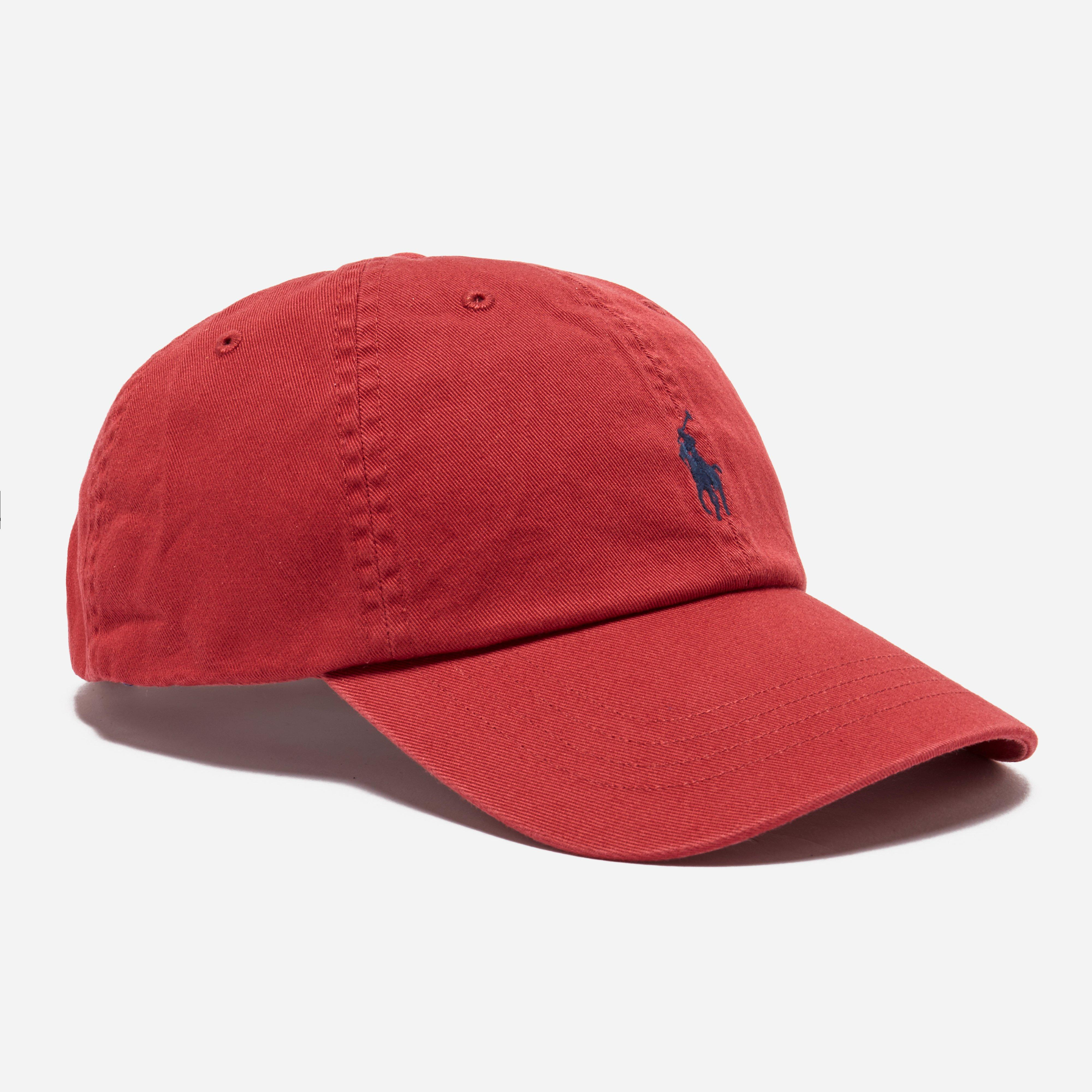 54bc145ce7f Polo Ralph Lauren Classic Sport Cap in Red for Men - Lyst