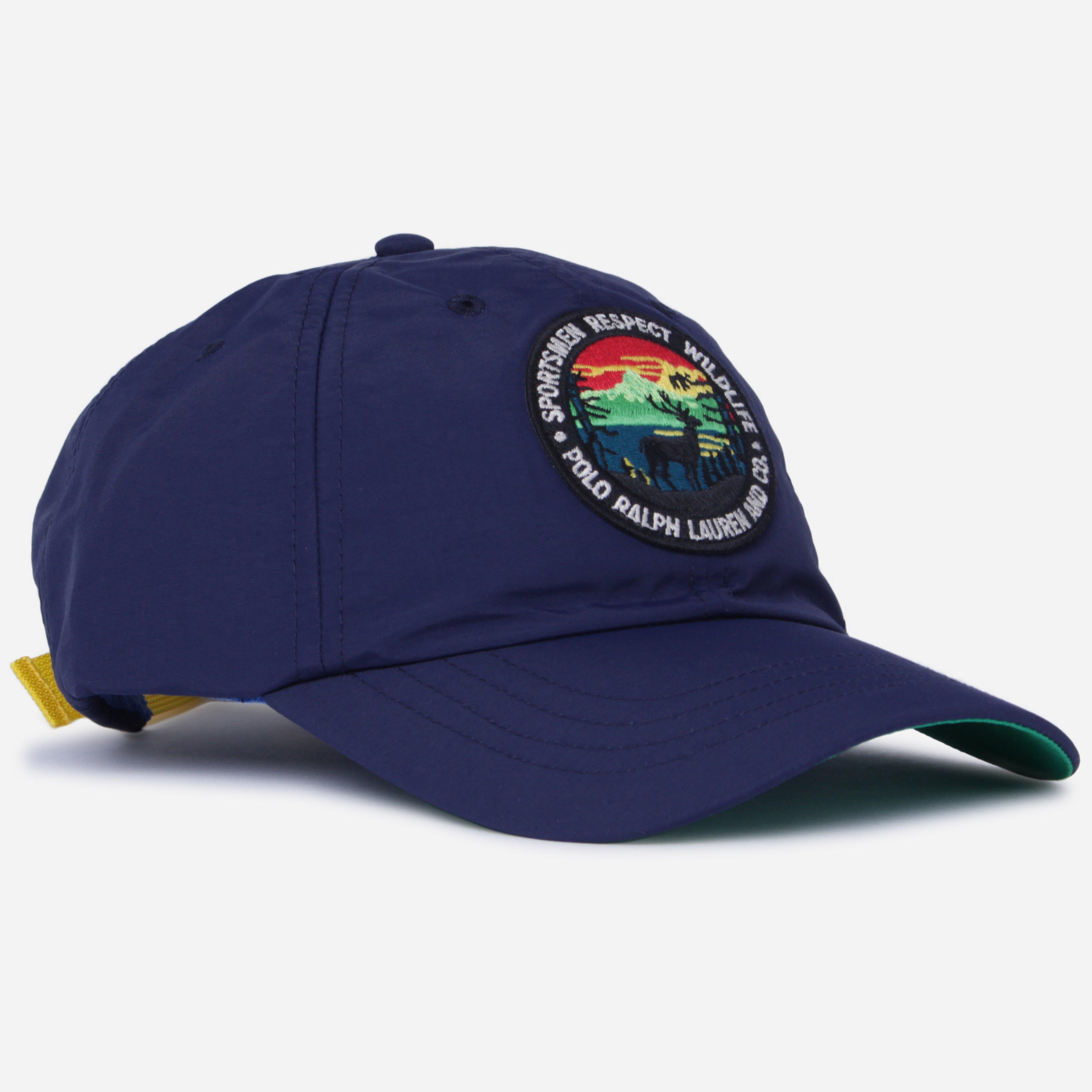668e809c2805d Lyst - Polo Ralph Lauren Appliquéd Nylon Cap in Blue for Men - Save 9%
