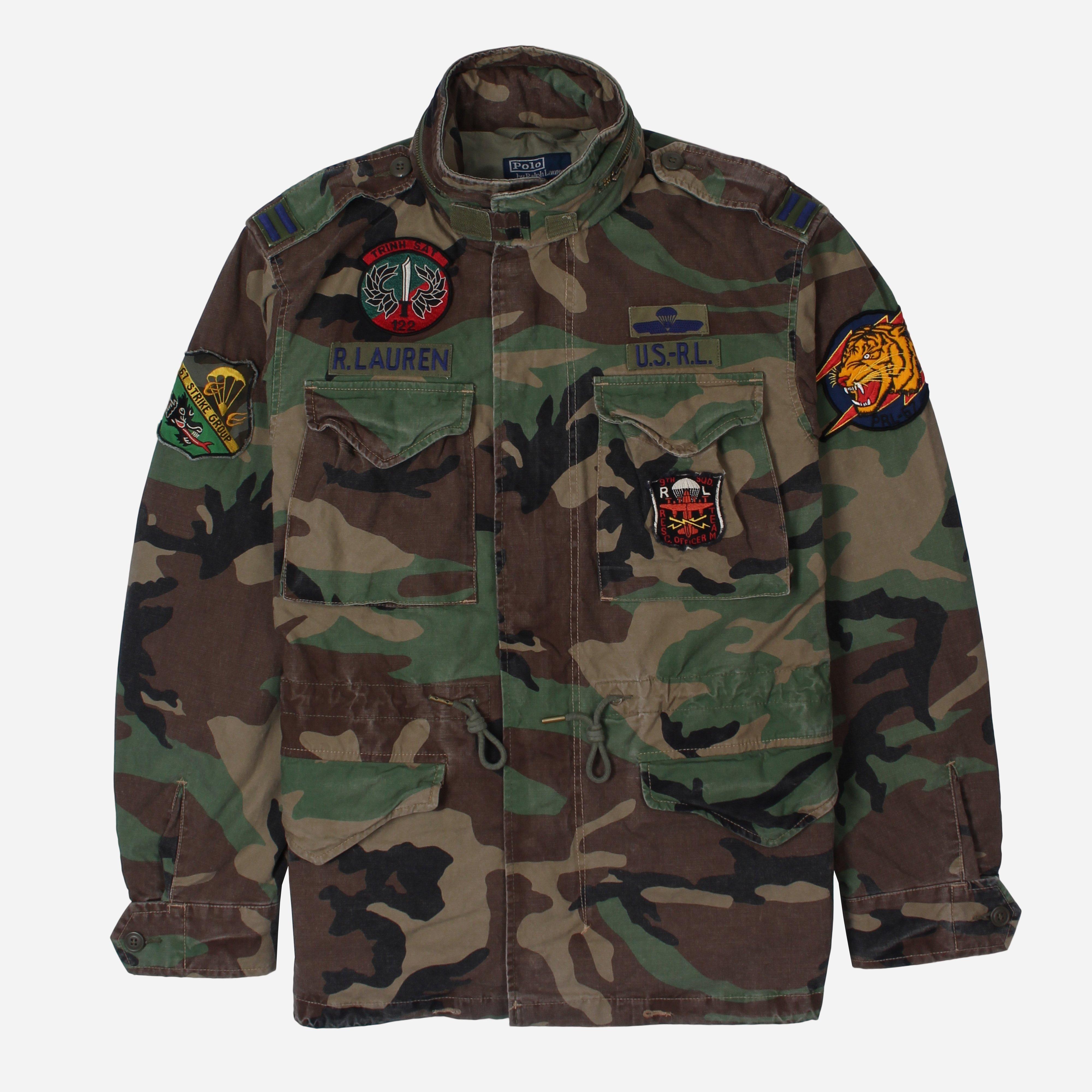 Polo Ralph Lauren Camo Field Jacket in Green for Men - Lyst