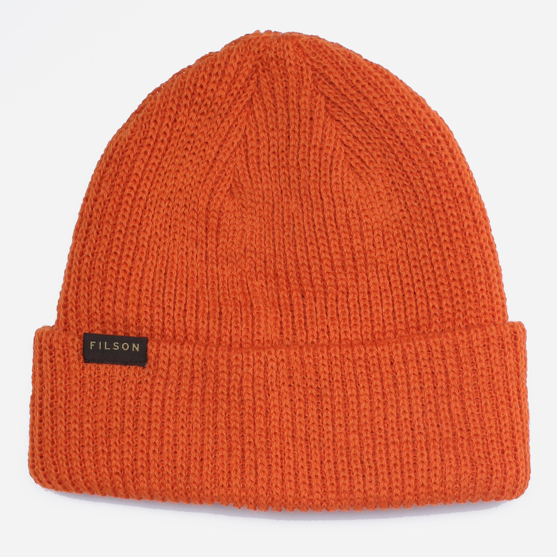 518558ad242 Filson - Orange Watch Beanie for Men - Lyst. View fullscreen