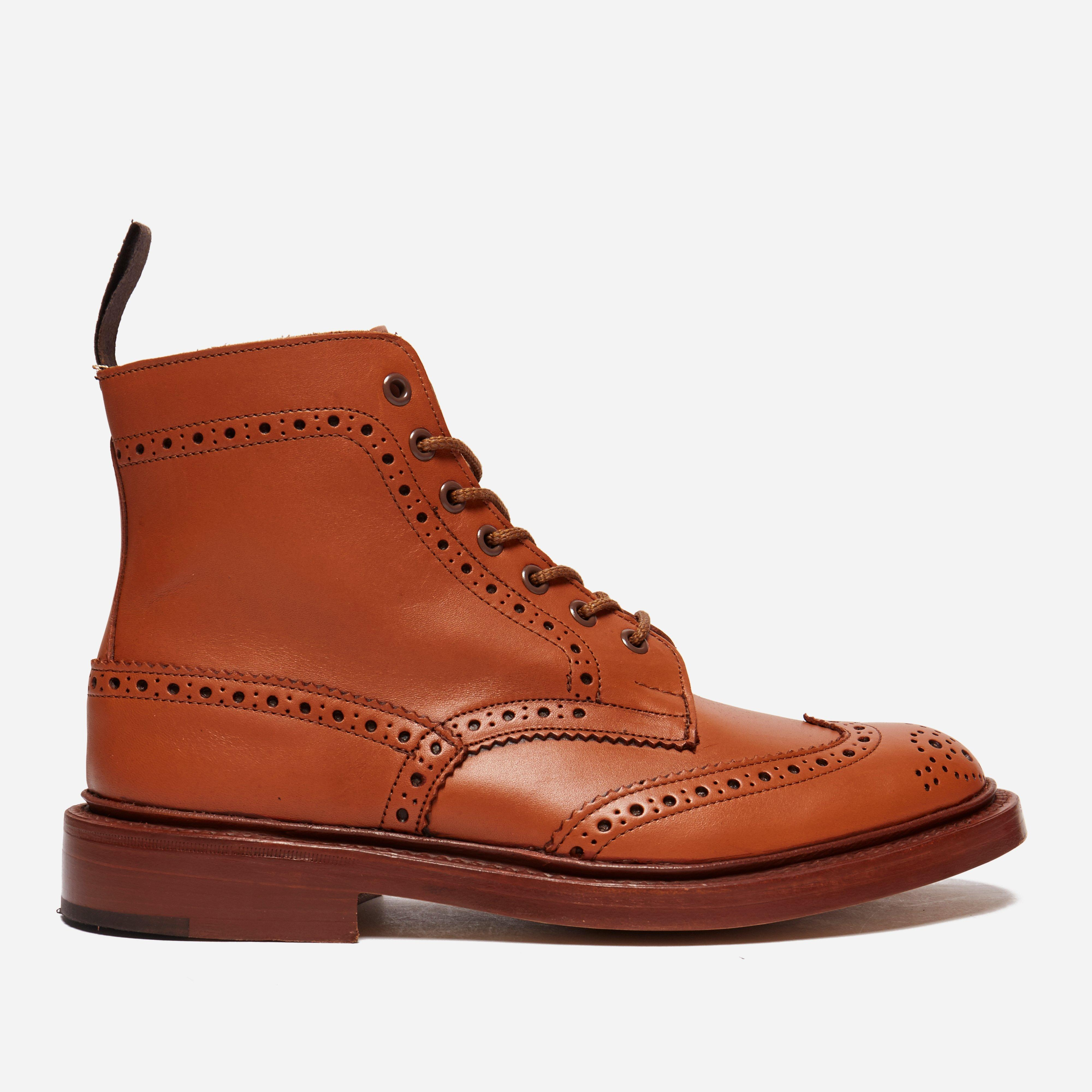 bd597dcaa8032 Tricker's Stow Brogue Derby Country Boot in Brown for Men - Save 10 ...