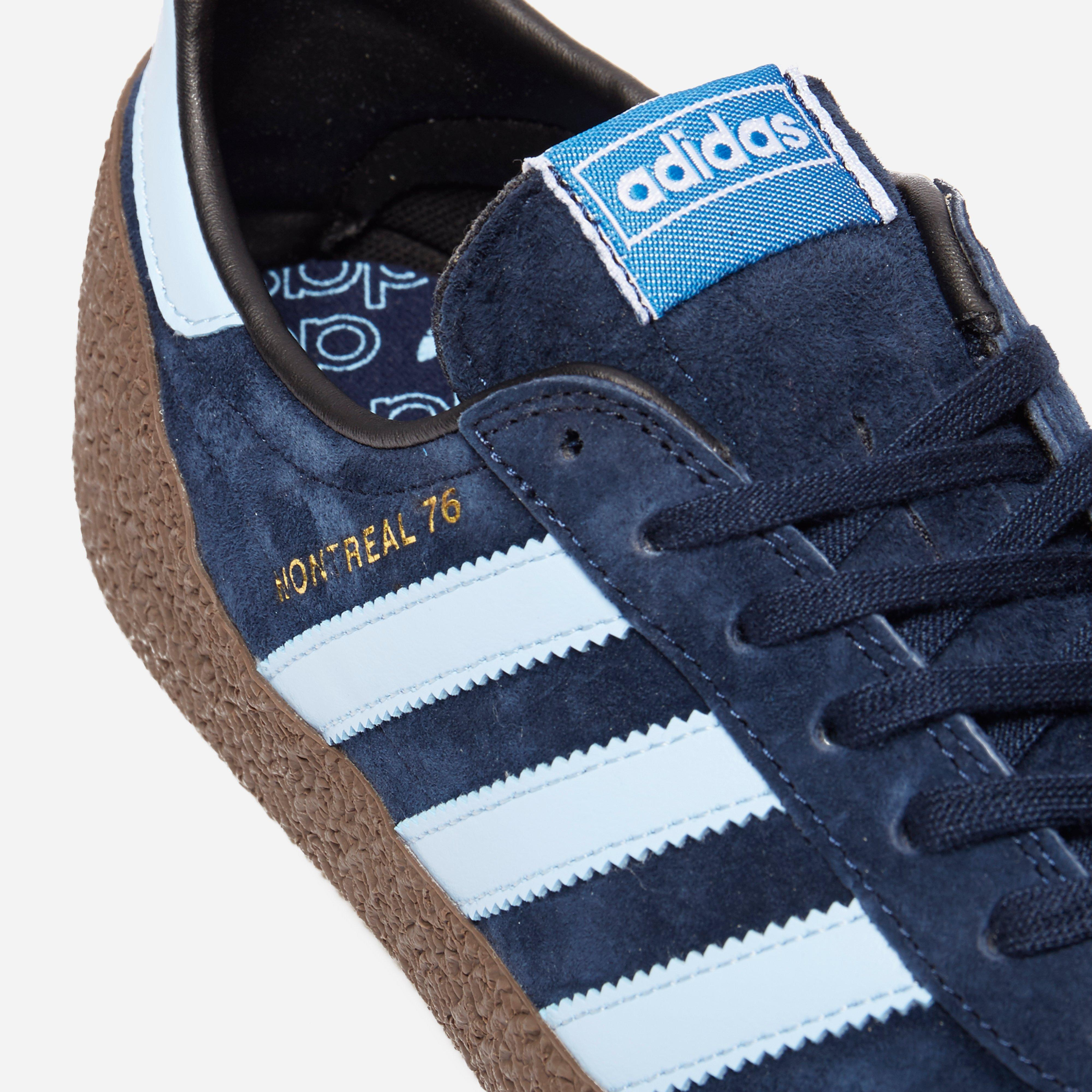 adidas Originals Suede Montreal 76 in Blue for Men