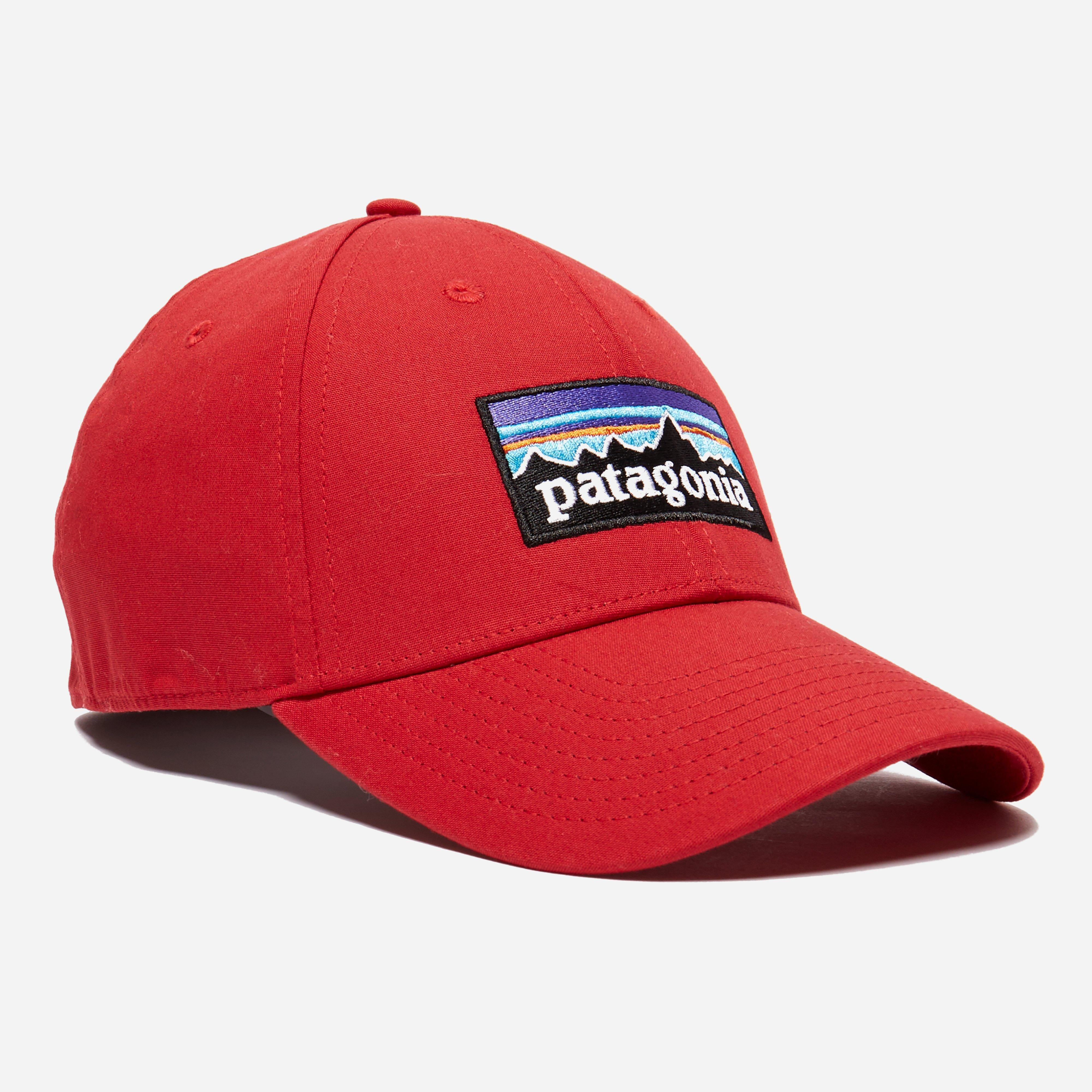 bb877dbdc04bf Patagonia P-6 Logo Stretch Fit Hat in Red for Men - Lyst