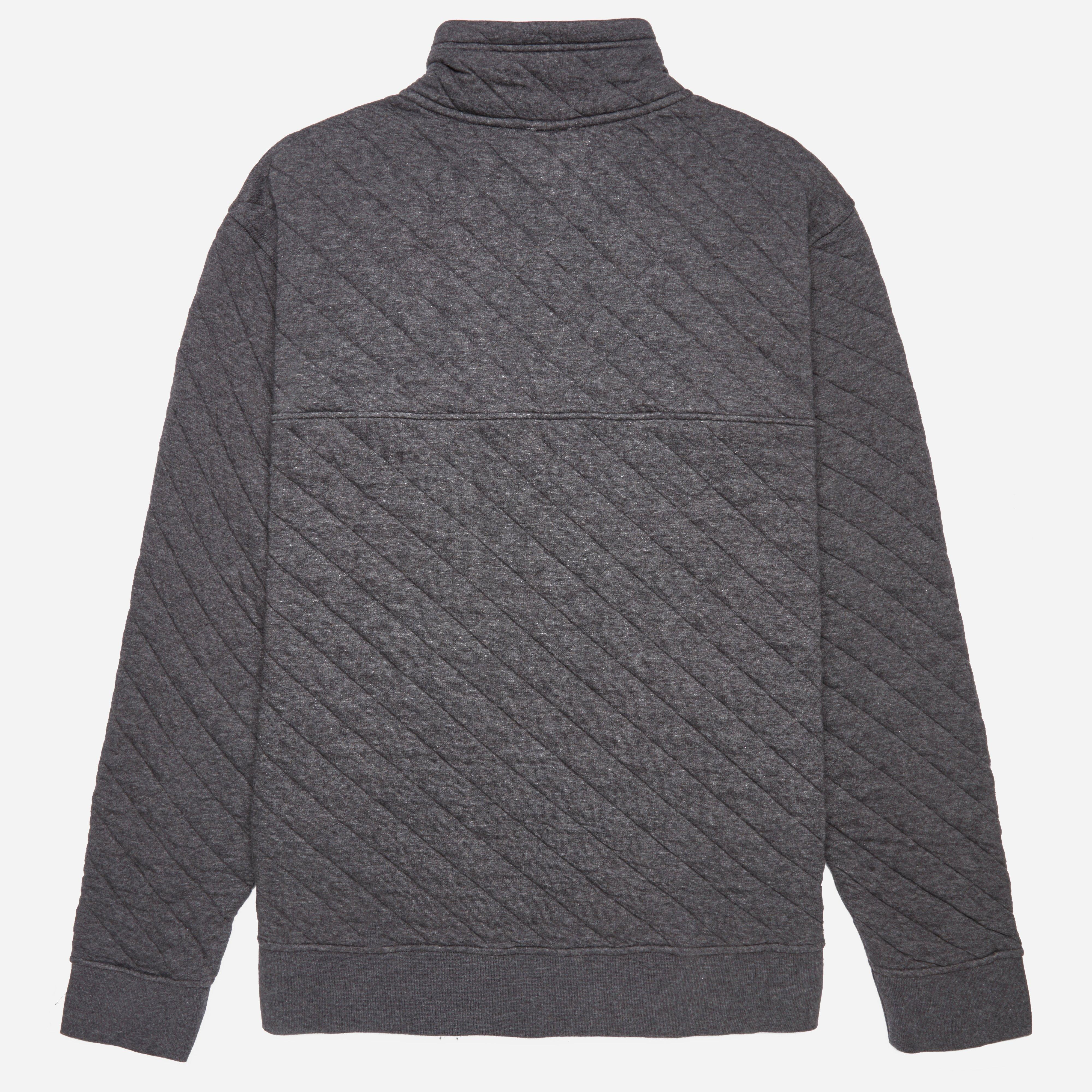Patagonia Cotton Quilt Snap Pull Over In Gray For Men Lyst