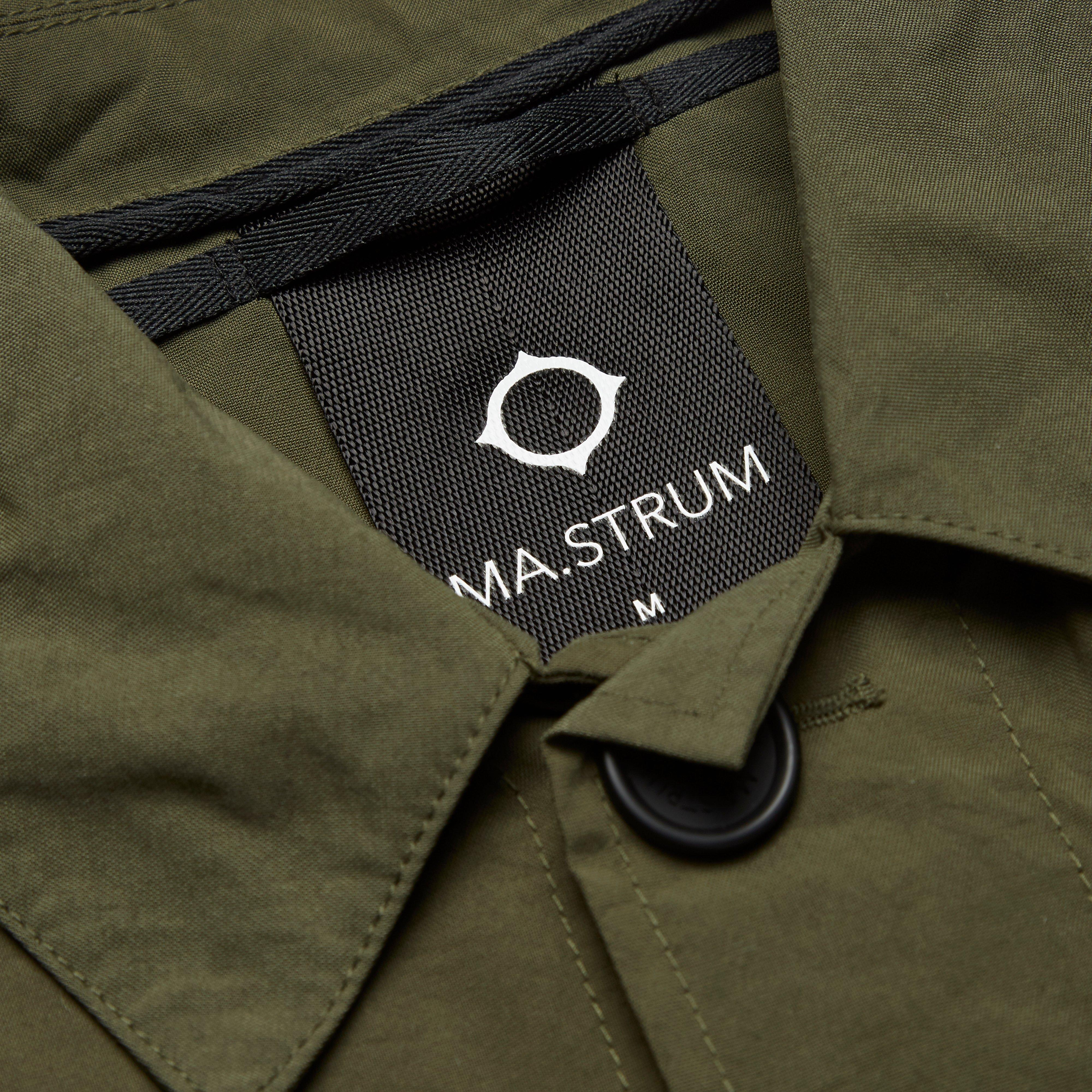 Ma.strum Synthetic Charioteen Bomber Jacket in Olive (Green) for Men