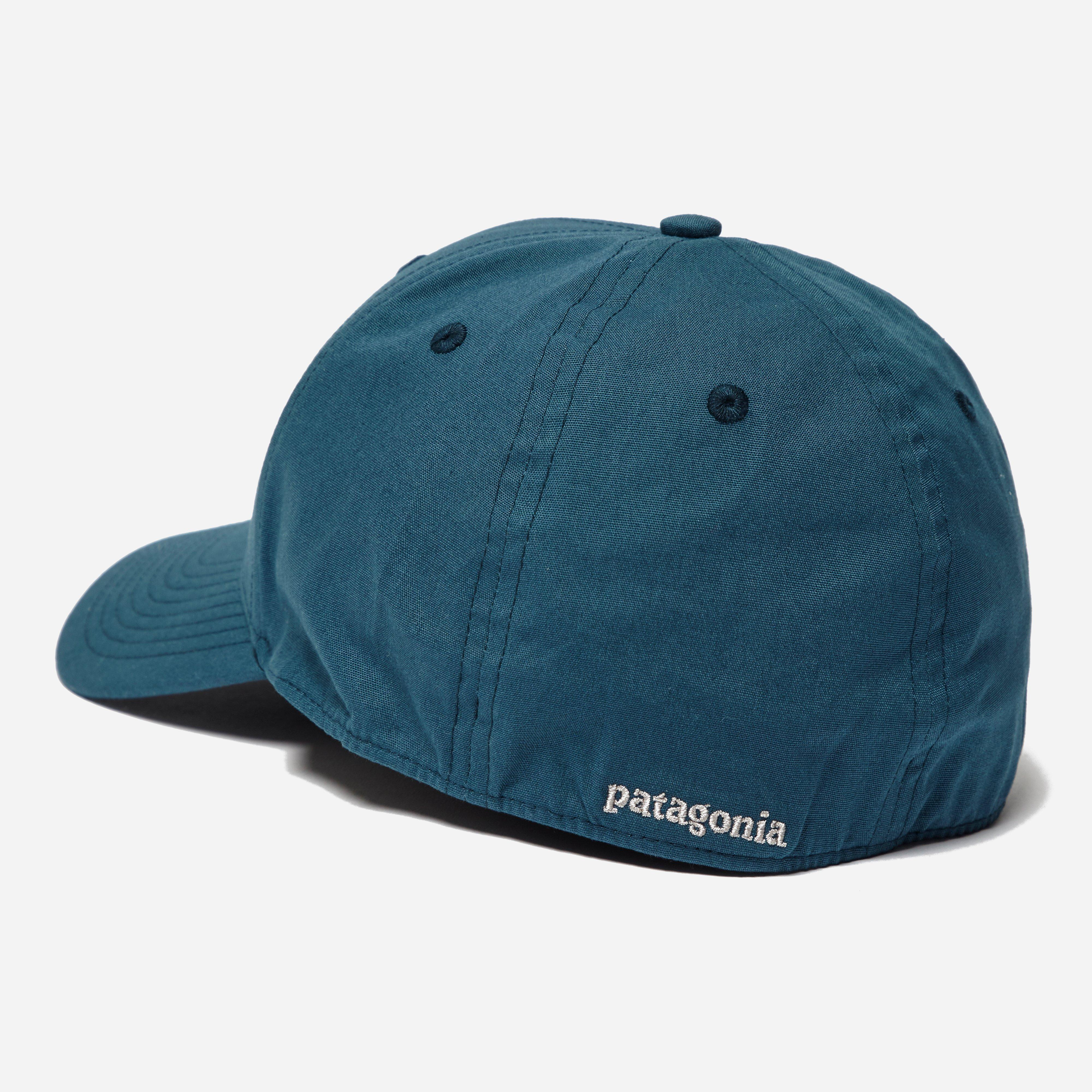 Patagonia P 6 Logo Stretch Fit Hat In Blue For Men Lyst