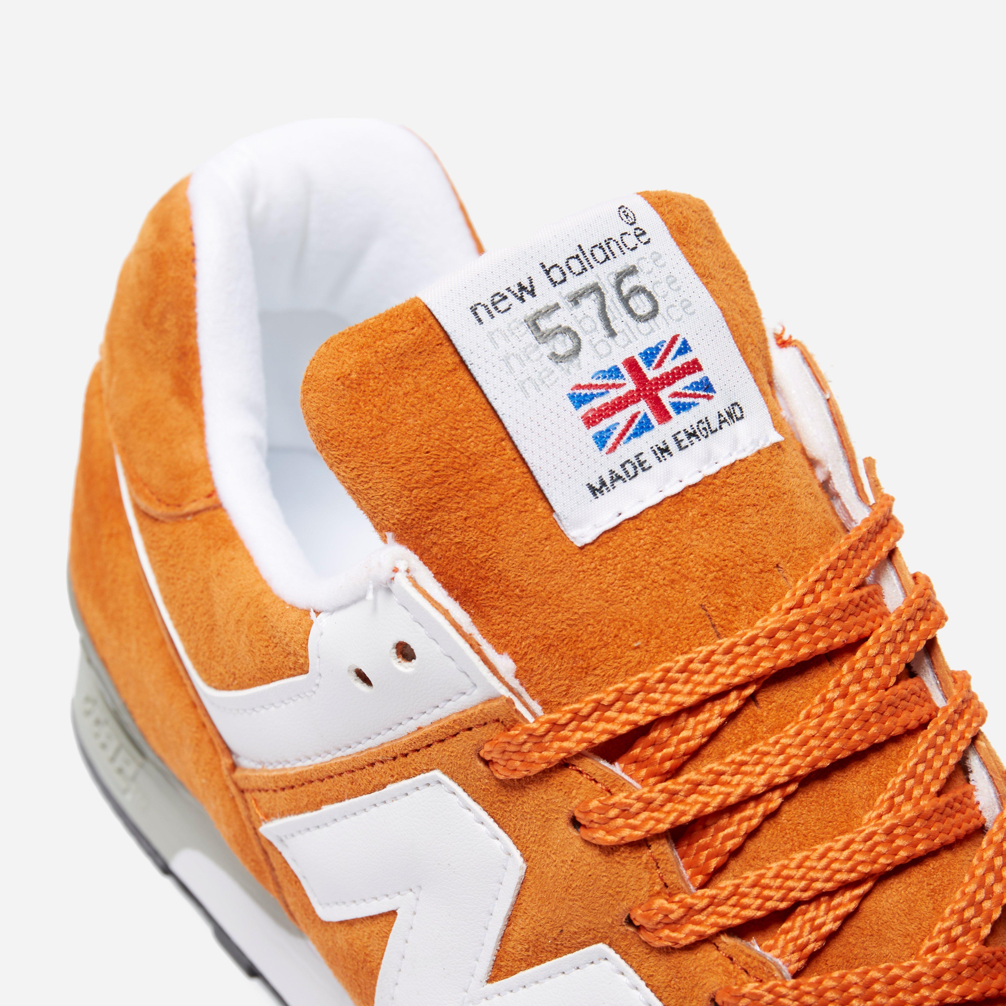 New Balance M 576 Oo Made In England in Orange for Men - Lyst