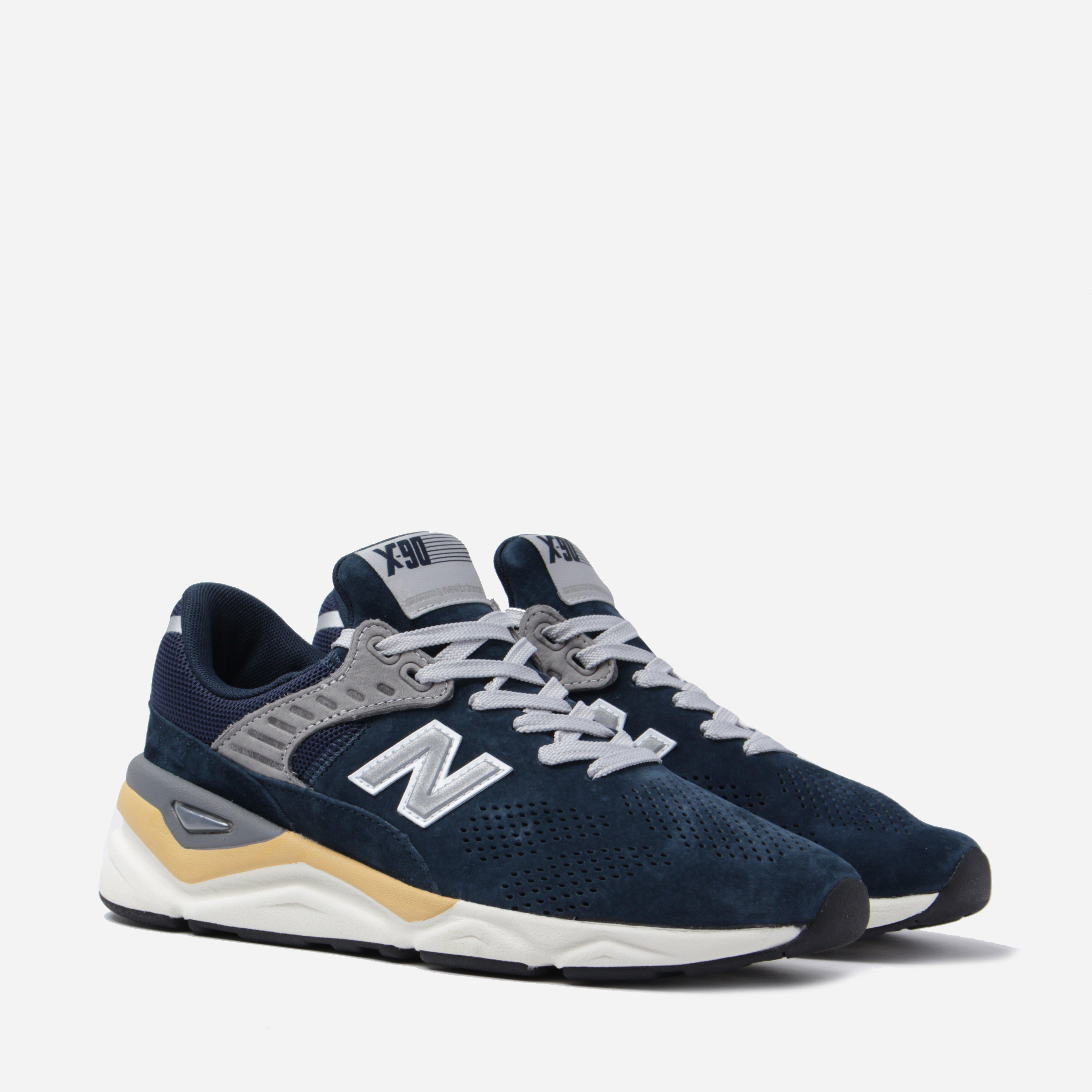 New Balance X90 in Navy (Blue) for Men - Lyst