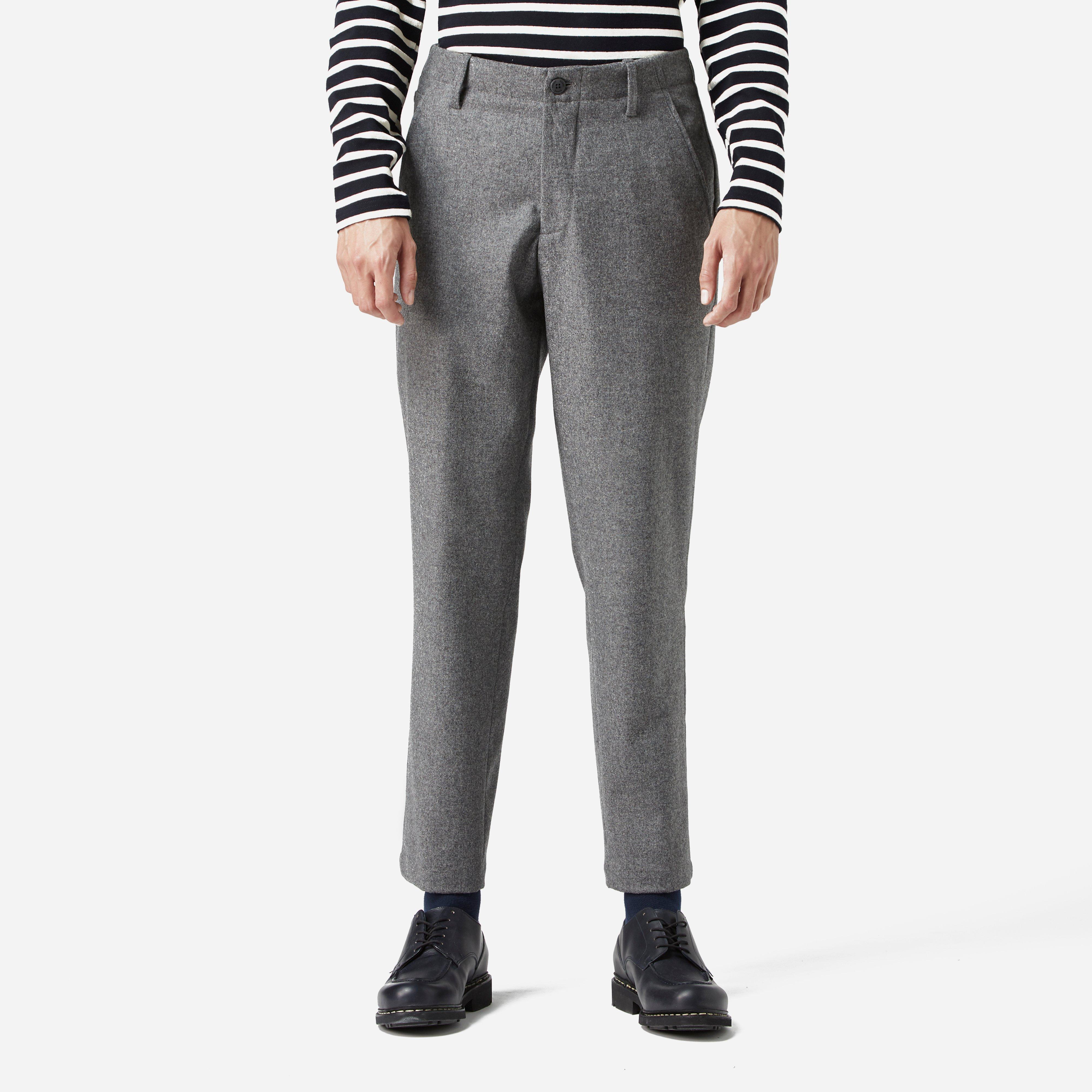 84245a51960 Norse Projects Harri Tapered Dry Wool Nylon Pant in Gray - Lyst