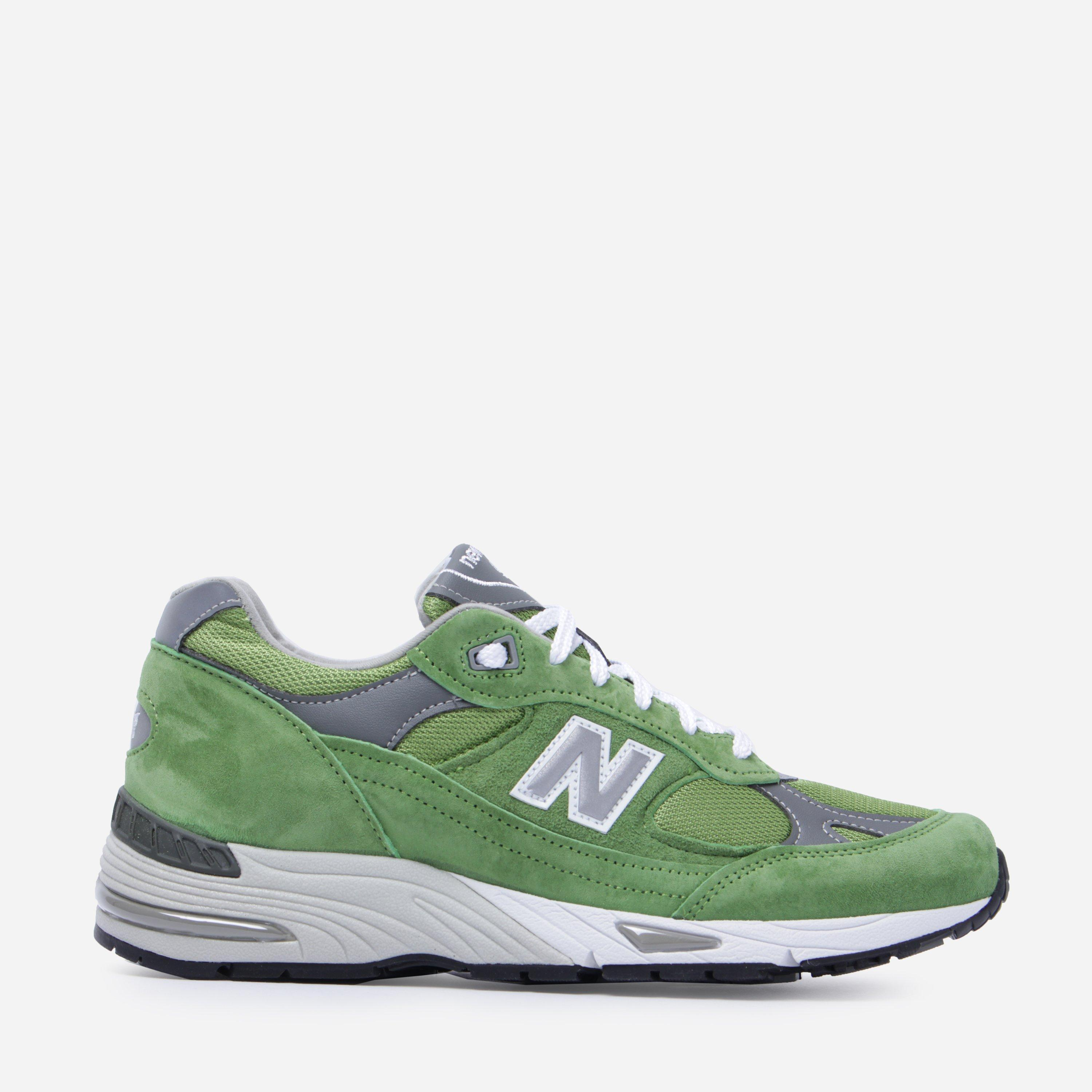 New Balance 991 in Green for Men - Lyst